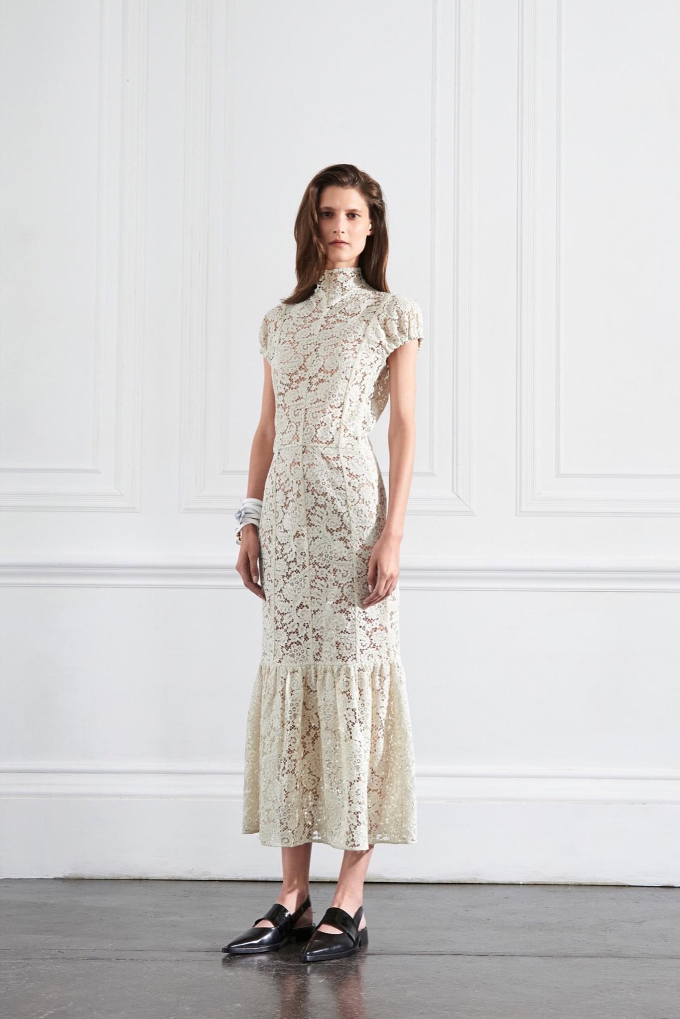 ROSE & IVY Journal Long Dress & Flats
