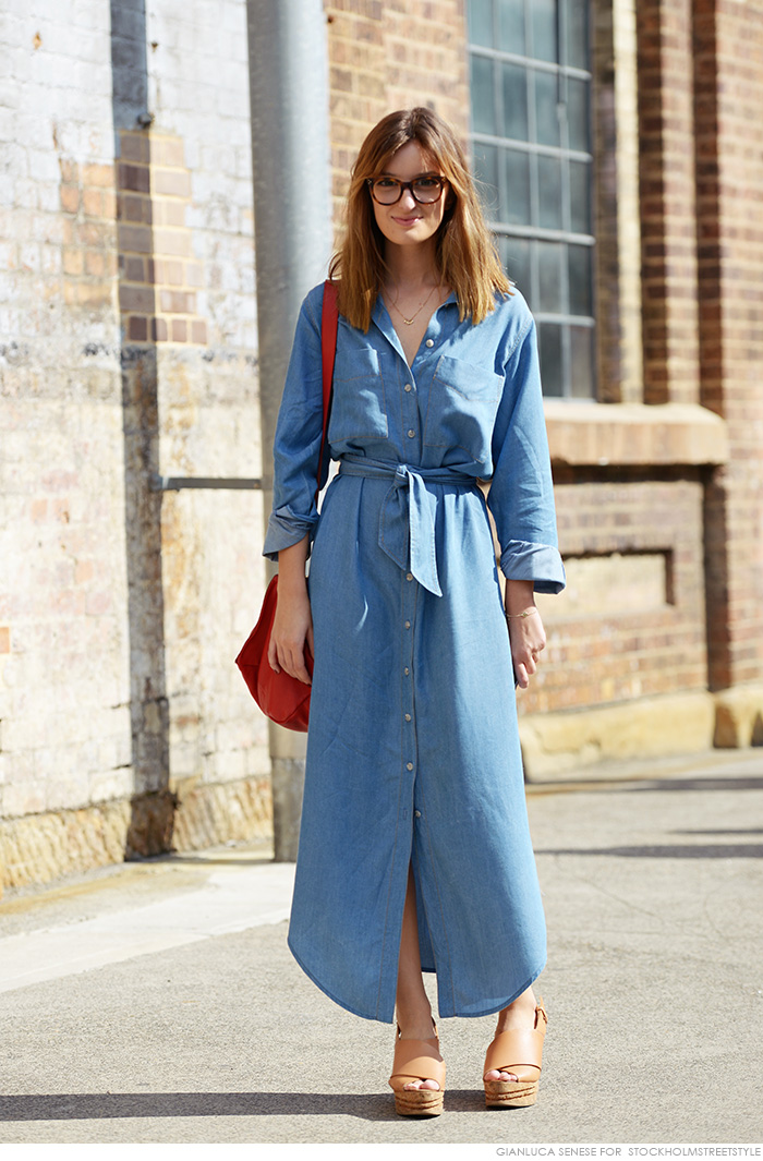 ROSE & IVY Journal The Perfect Chambray Dress