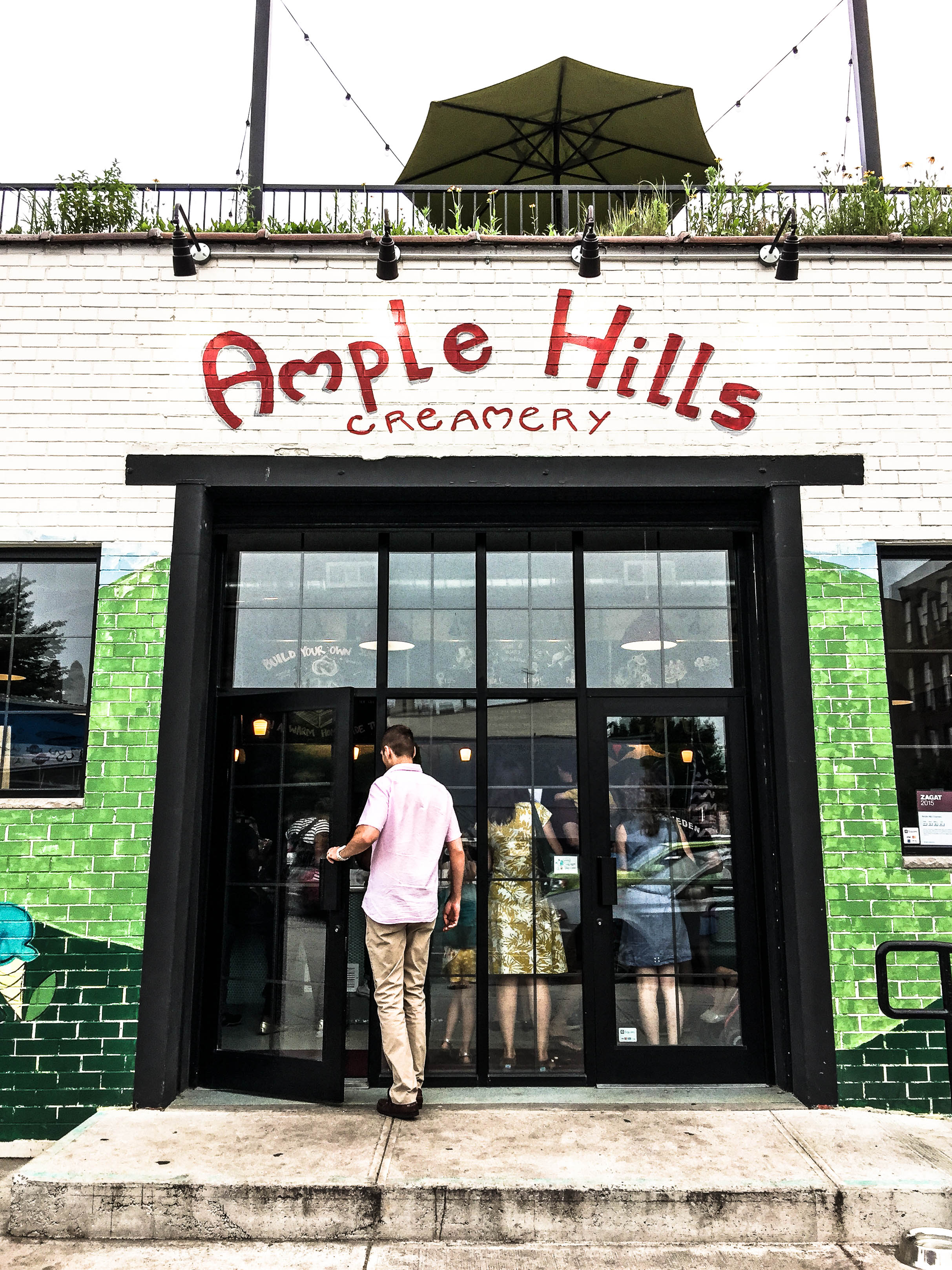 ROSE & IVY Journal A Taste of New York Ample Hills Creamery