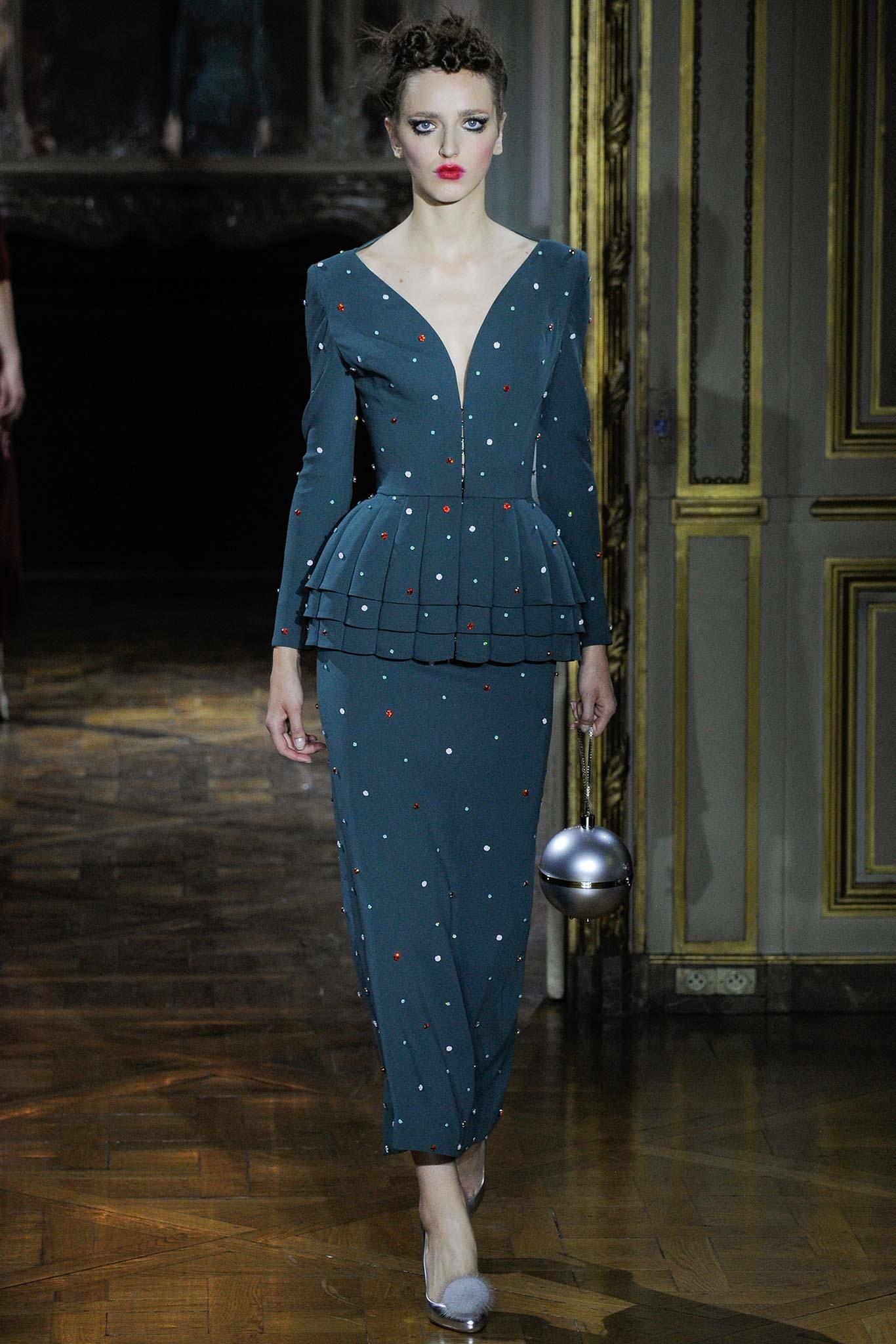 ROSE & IVY Journal Ulyana Sergeenko Fall 2015 Couture