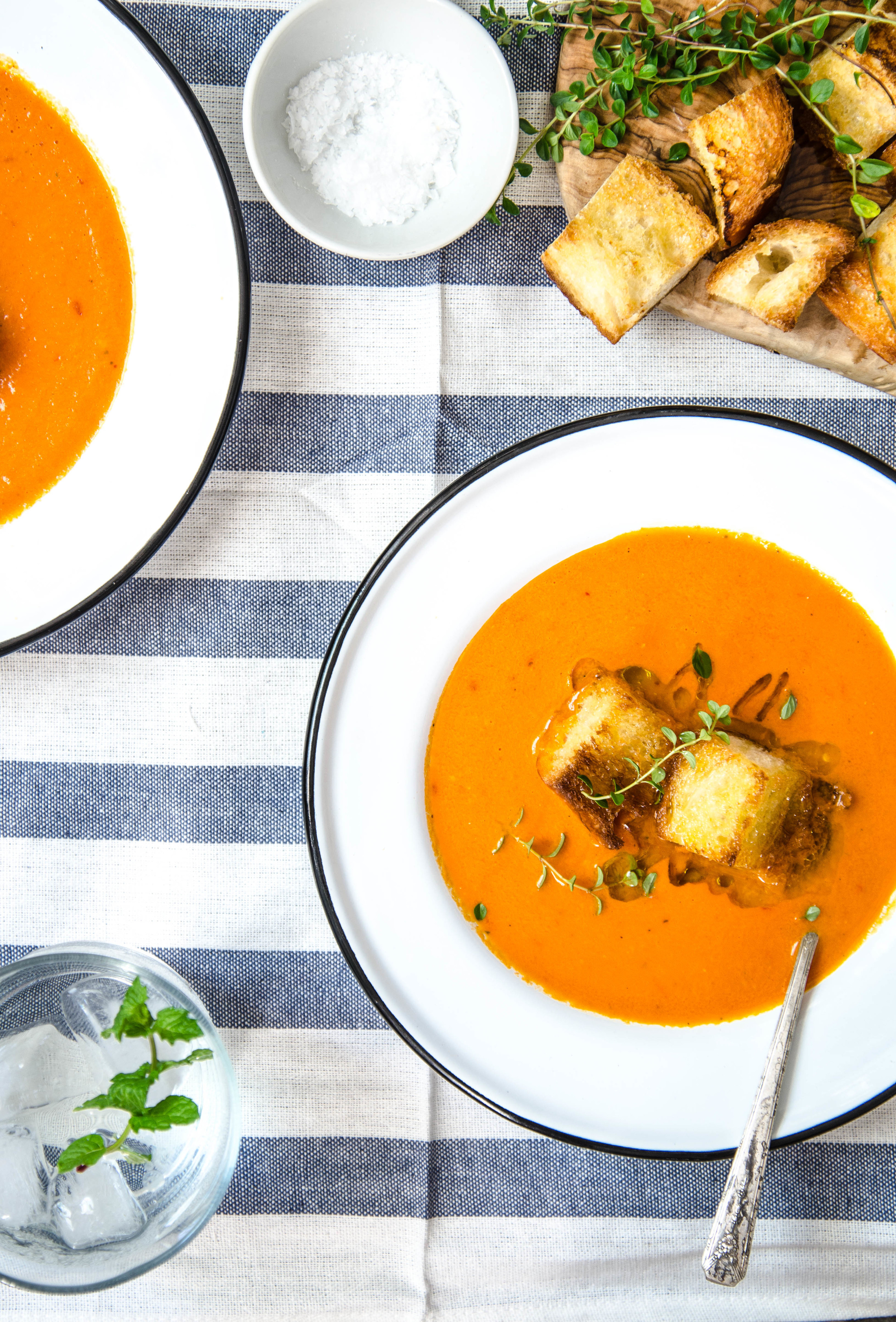 ROSE & IVY Journal  Roasted Tomato Soup