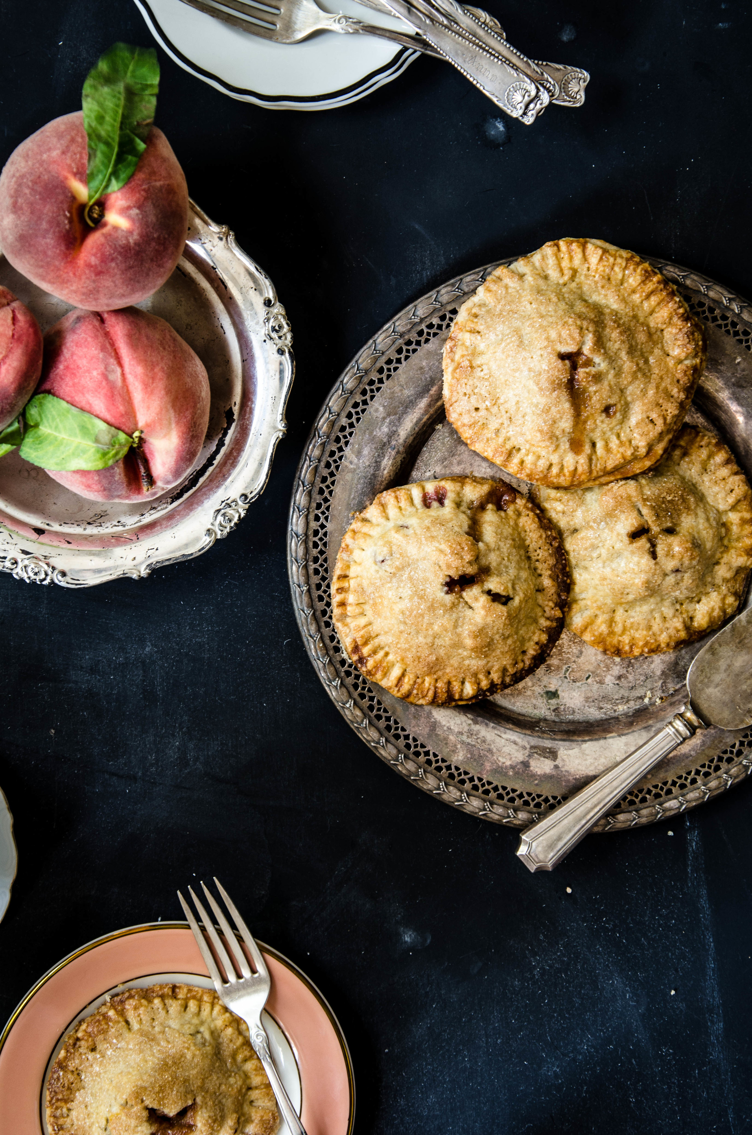 ROSE & IVY Journal Spiced Peach Hand Pies
