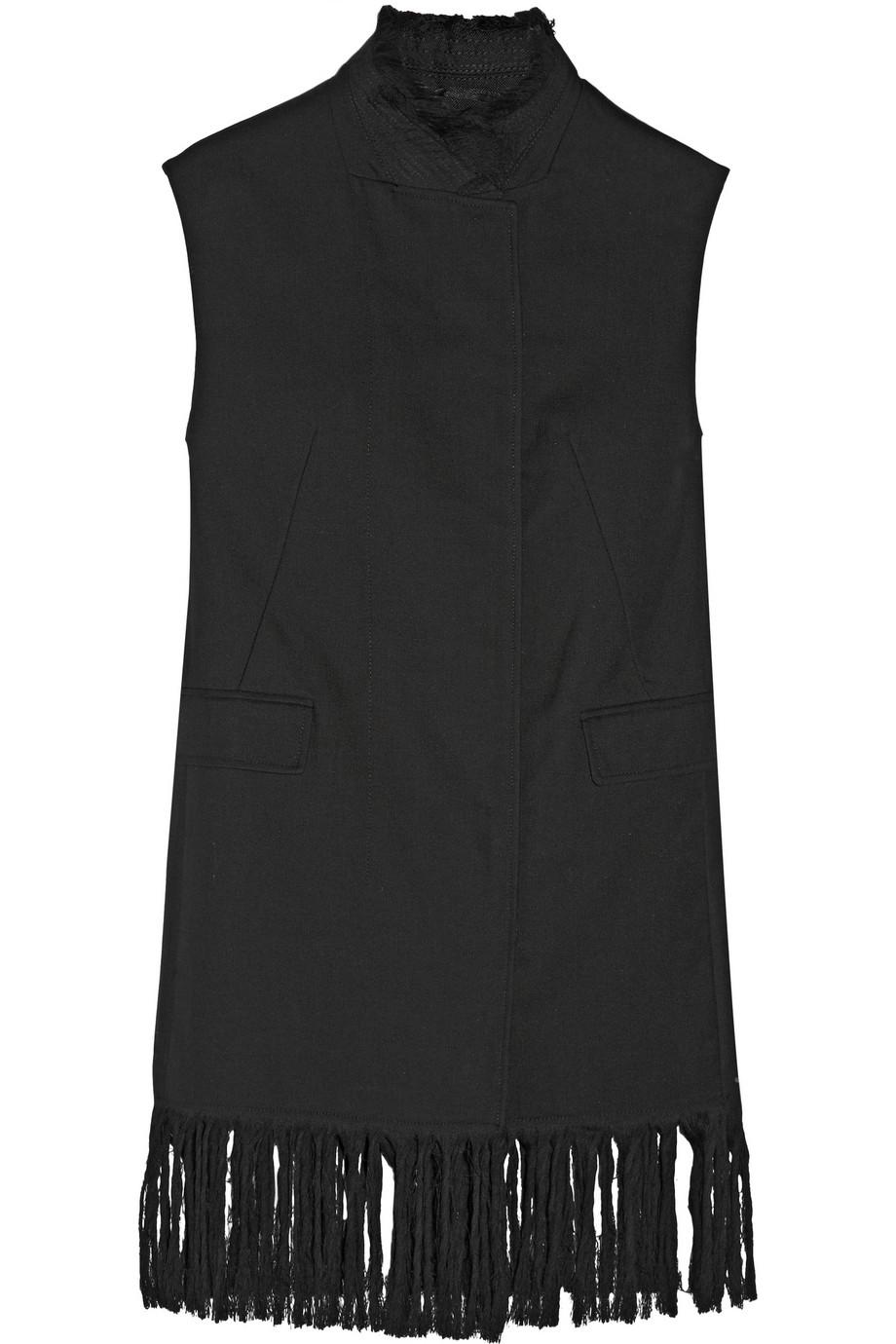 3.1 Phillip Lim Fringed Wool Vest