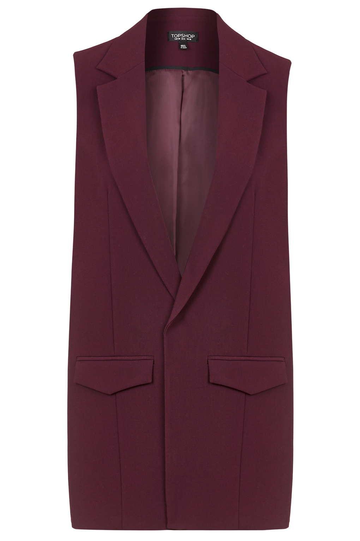 Topshop Tailored Sleeveless Jacket