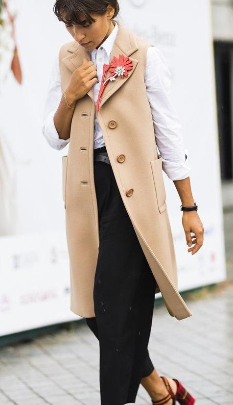 ROSE & IVY Journal Fall Must Have the Long Vest