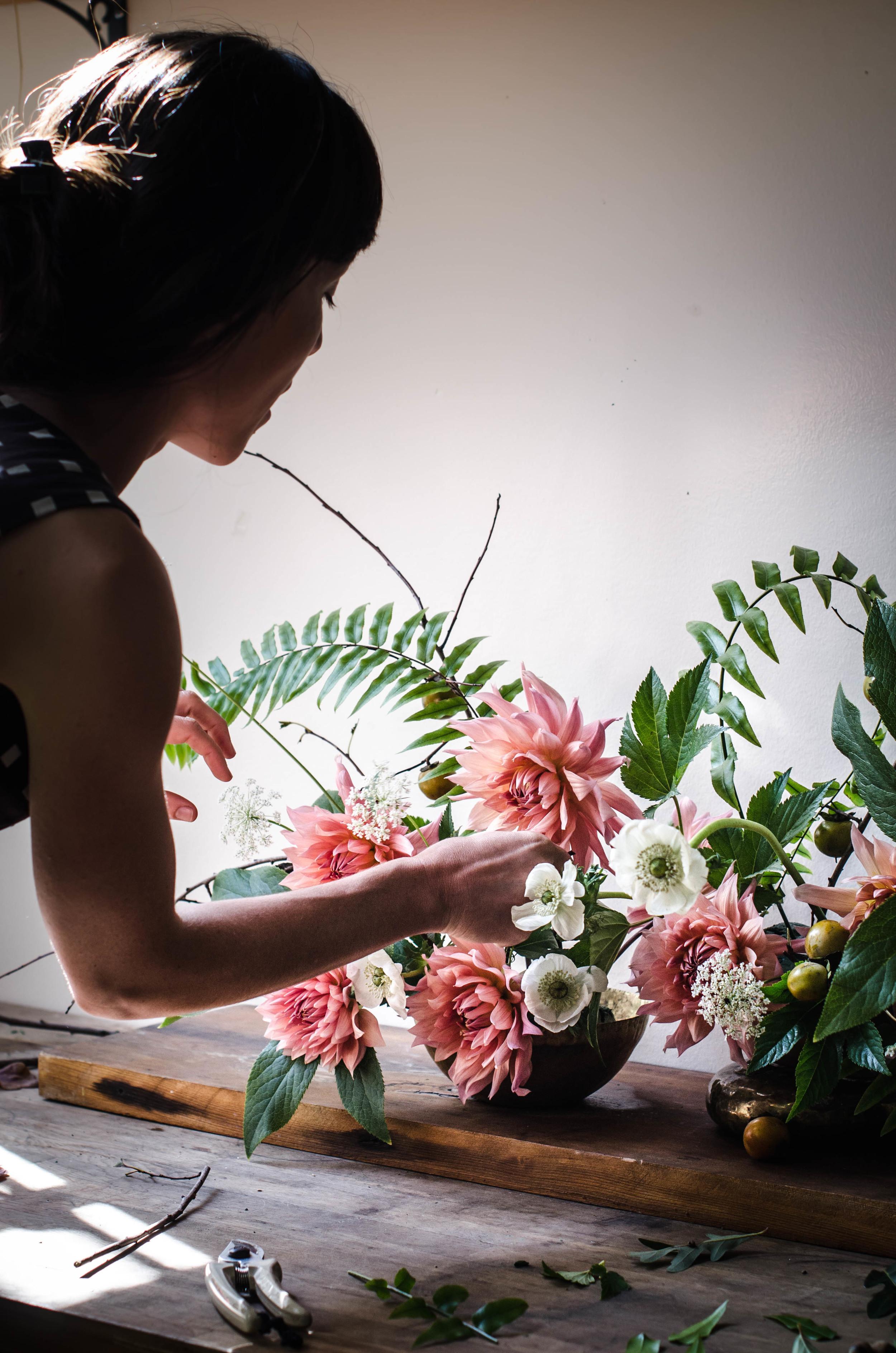 ROSE & IVY Journal Ariel Dearie The Garden Edit