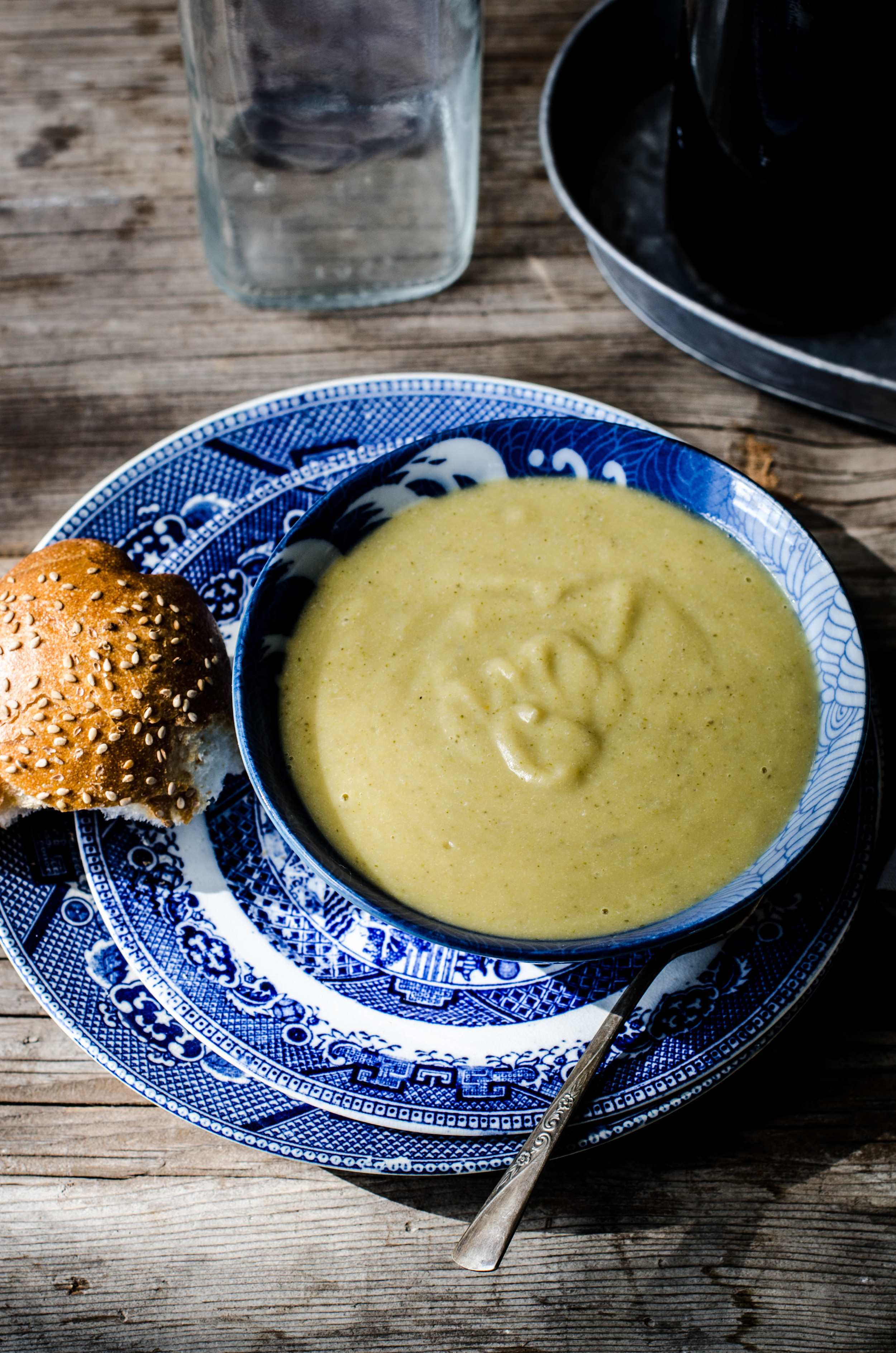 ROSE & IVY Journal Fom Farm to Plate White Bean Broccoli and Potato Soup