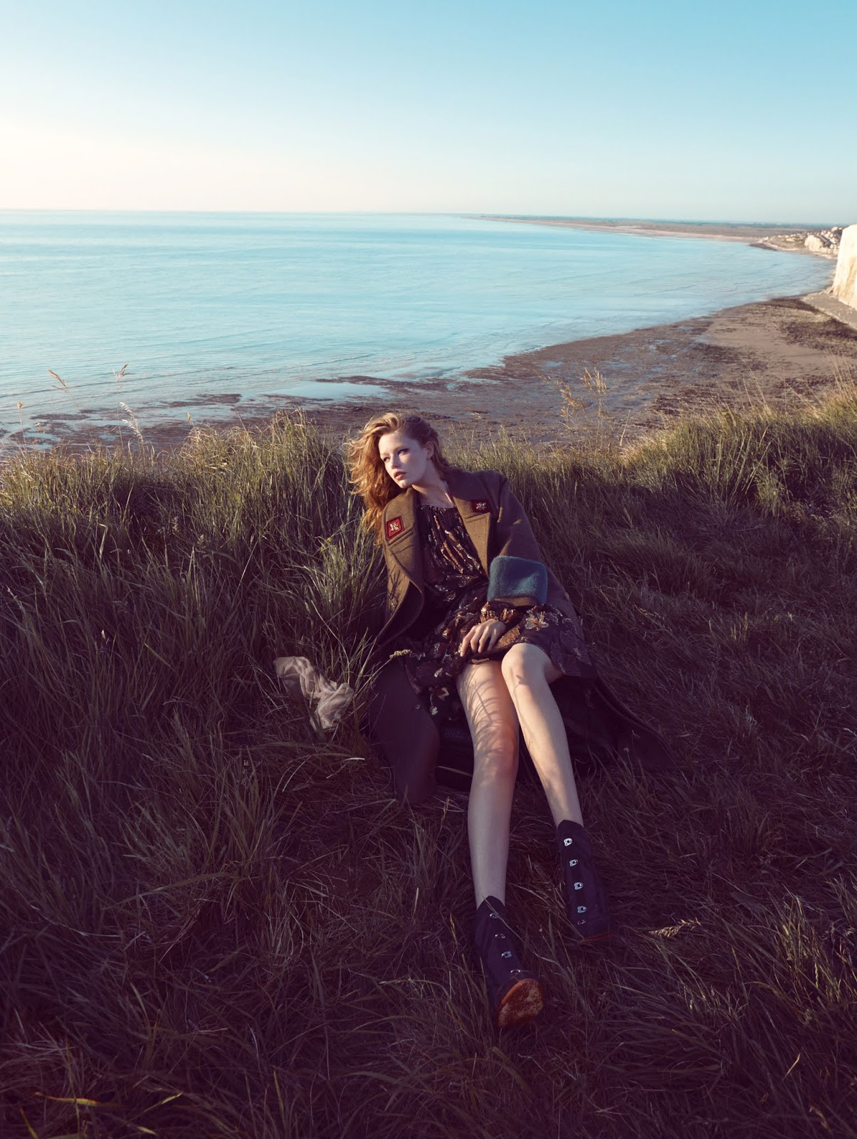 ROSE & IVY Journal On The Cliffs of Dover