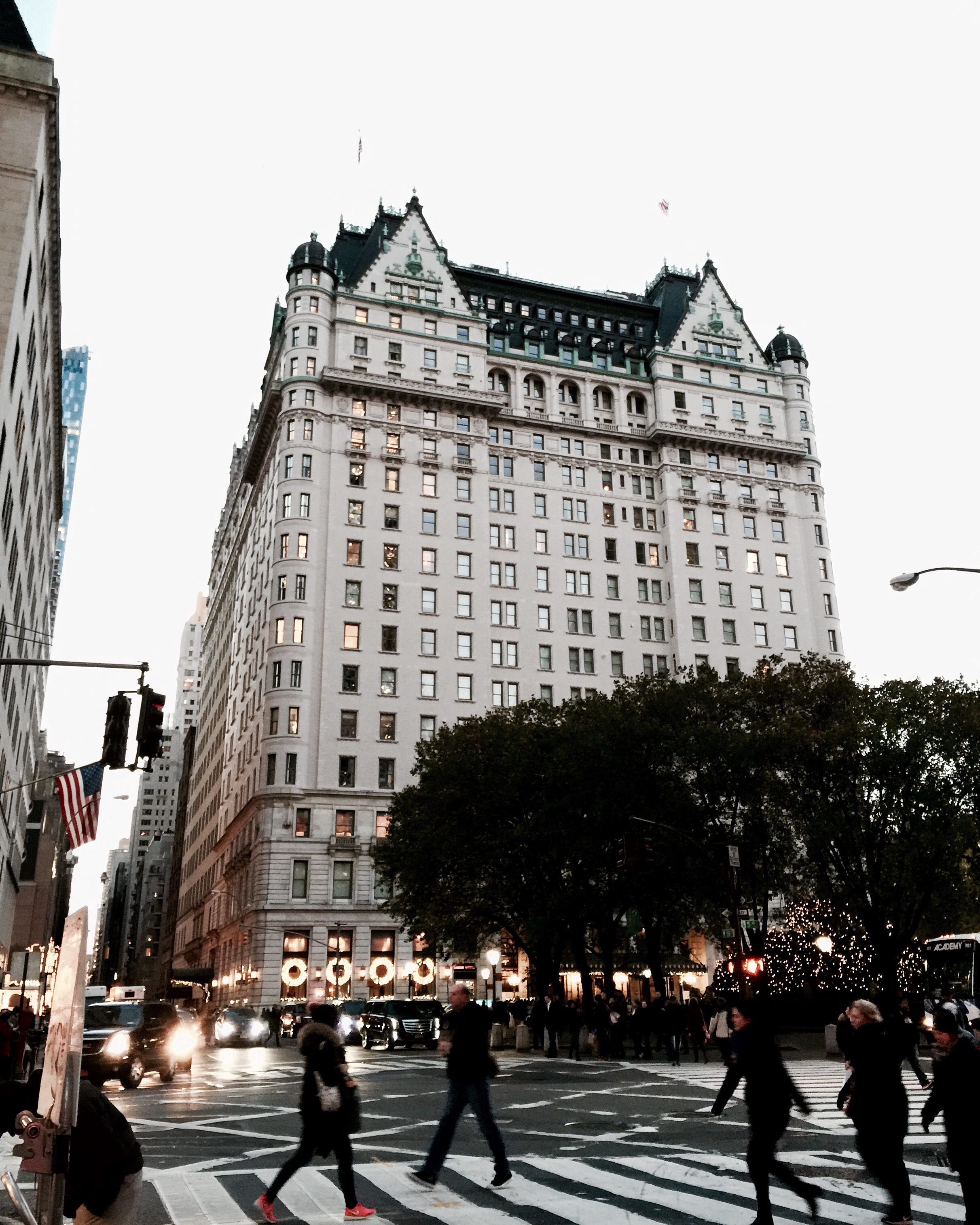 Nothing is as iconic as The Plaza Hotel, especially during the holidays