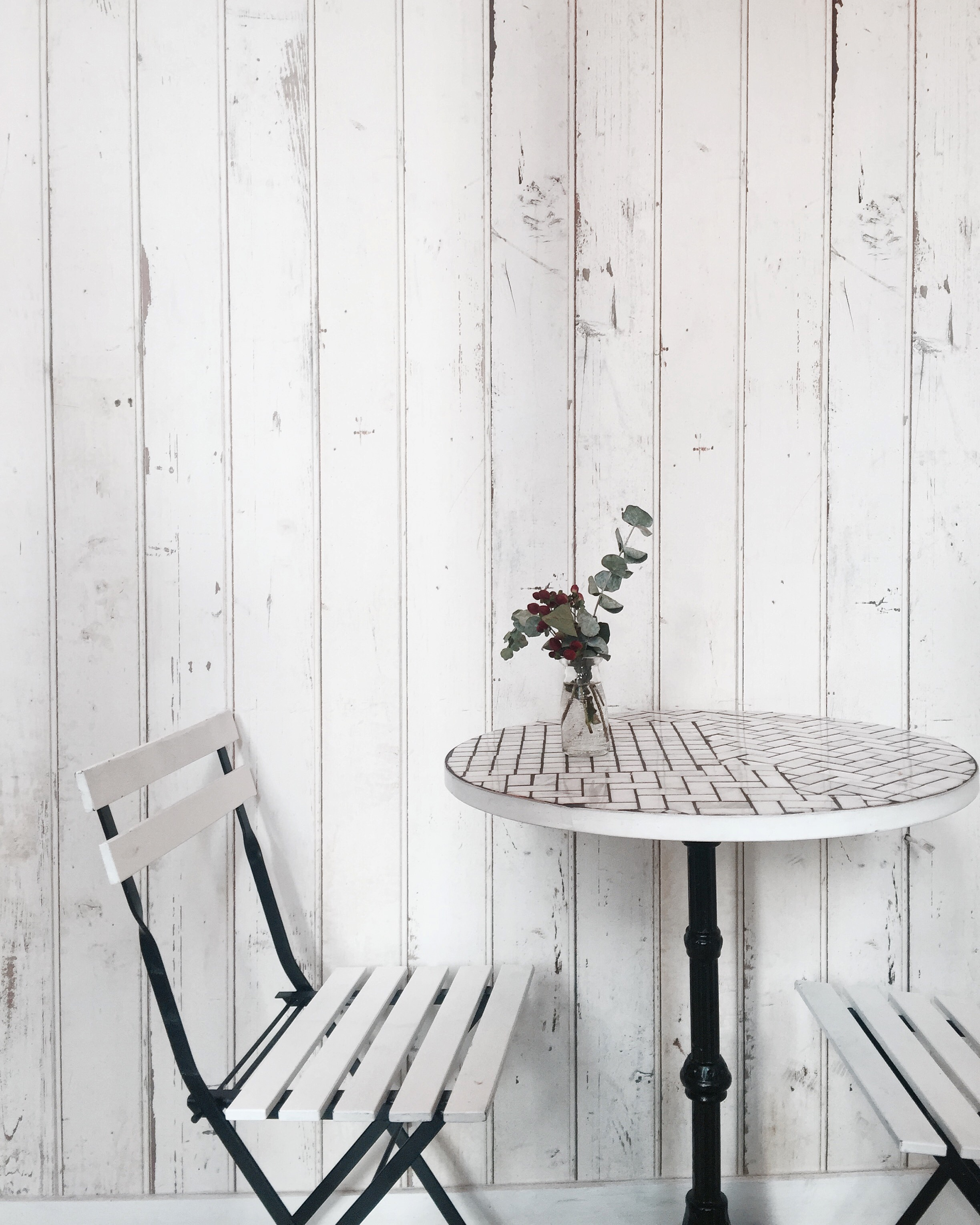 I love a white-washed space, spotted at Woops Macarons in Tribeca