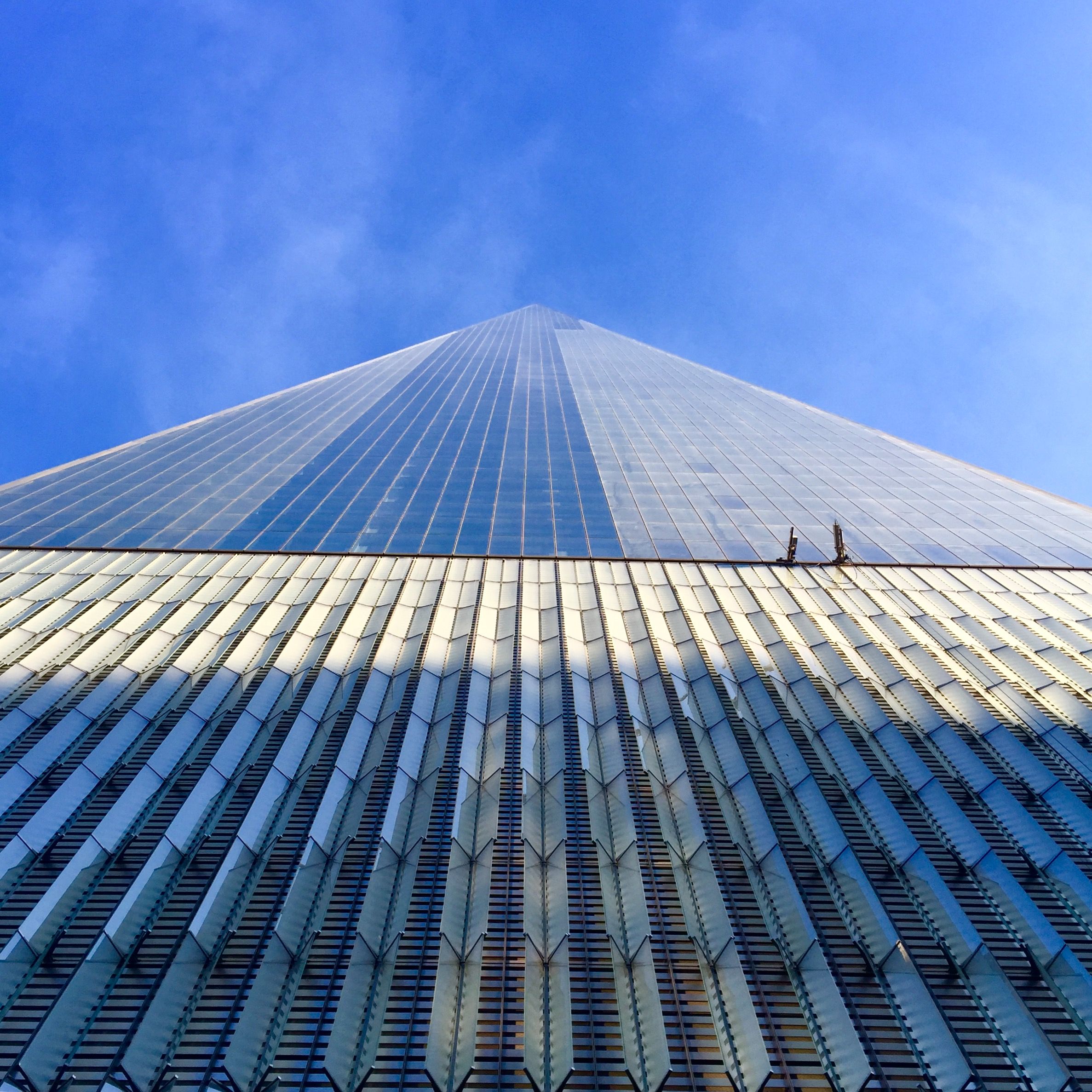To infinity and beyond, the dizzying heights of the Freedom Tower