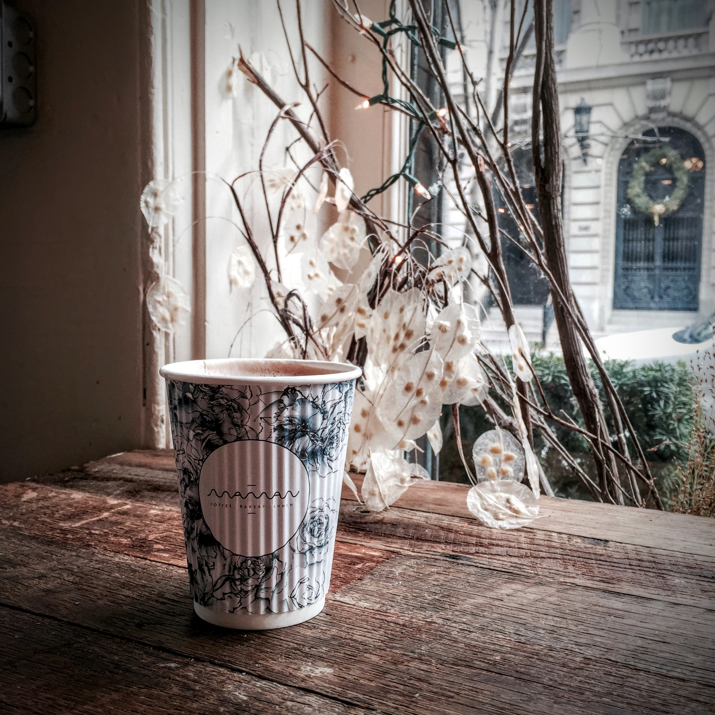 Maman Bakery  - Try the Lavender Hot Chocolate