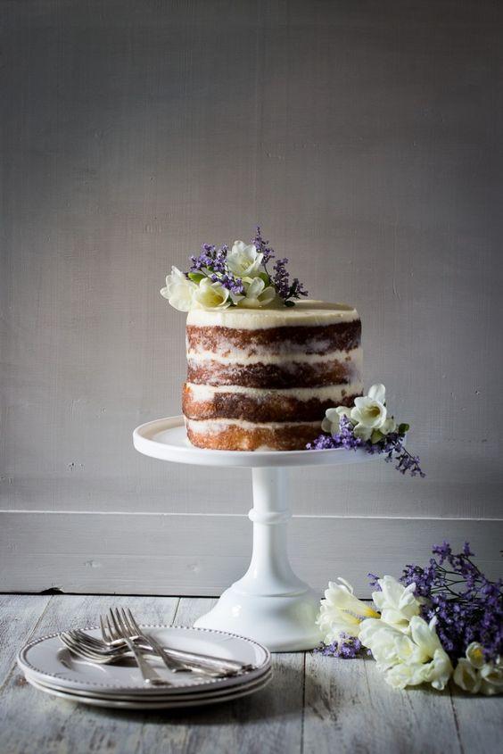 Elderflower Lemon and Marscapone Cake via  Cygnet Kitchen