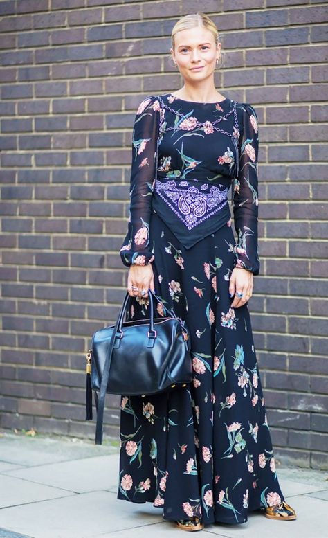 ROSE & IVY Journal Currently Loving The Ankle Grazing Dress