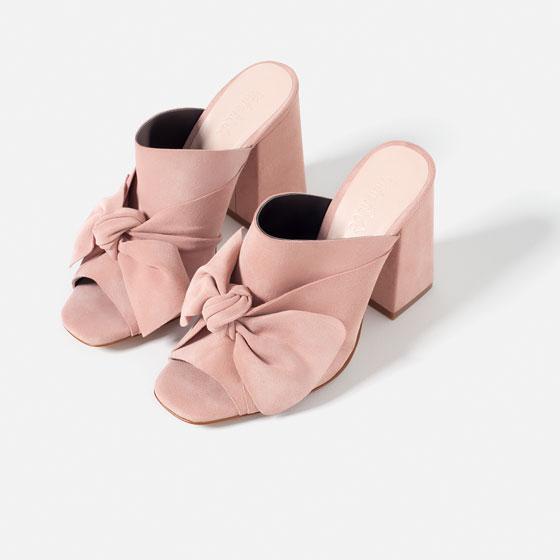 ROSE & IVY Journal Style Crush Zara's Bow Mules