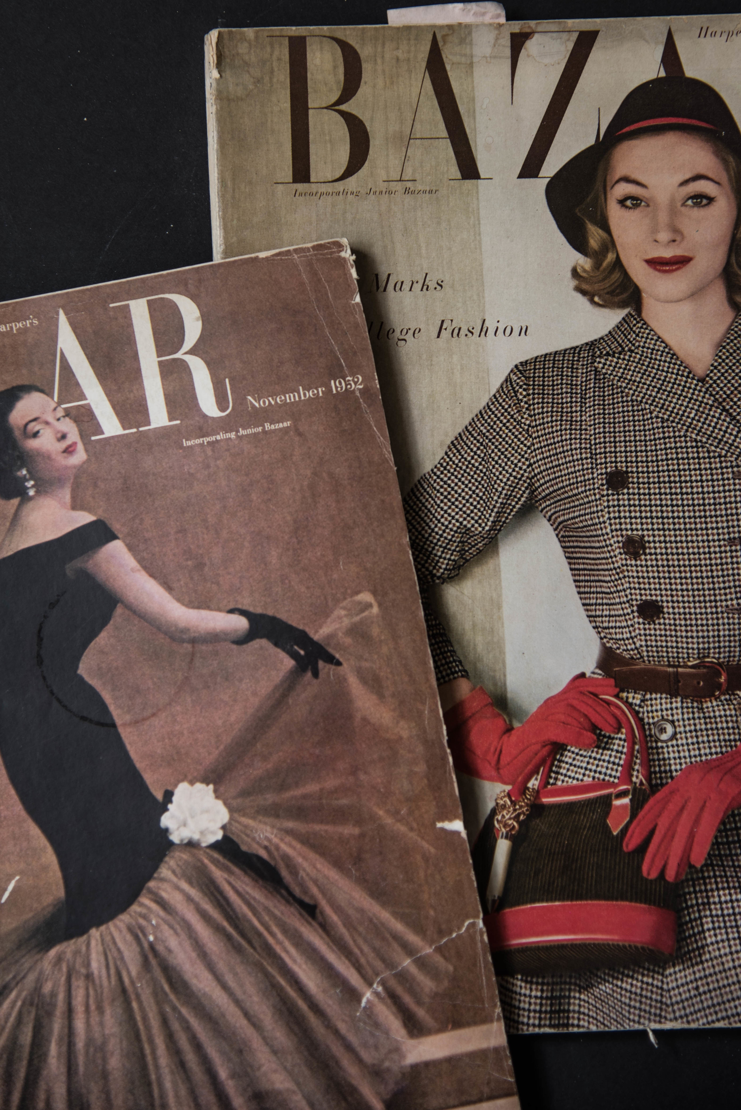 ROSE & IVY Journal Purchasing Vintage Fashion Magazines