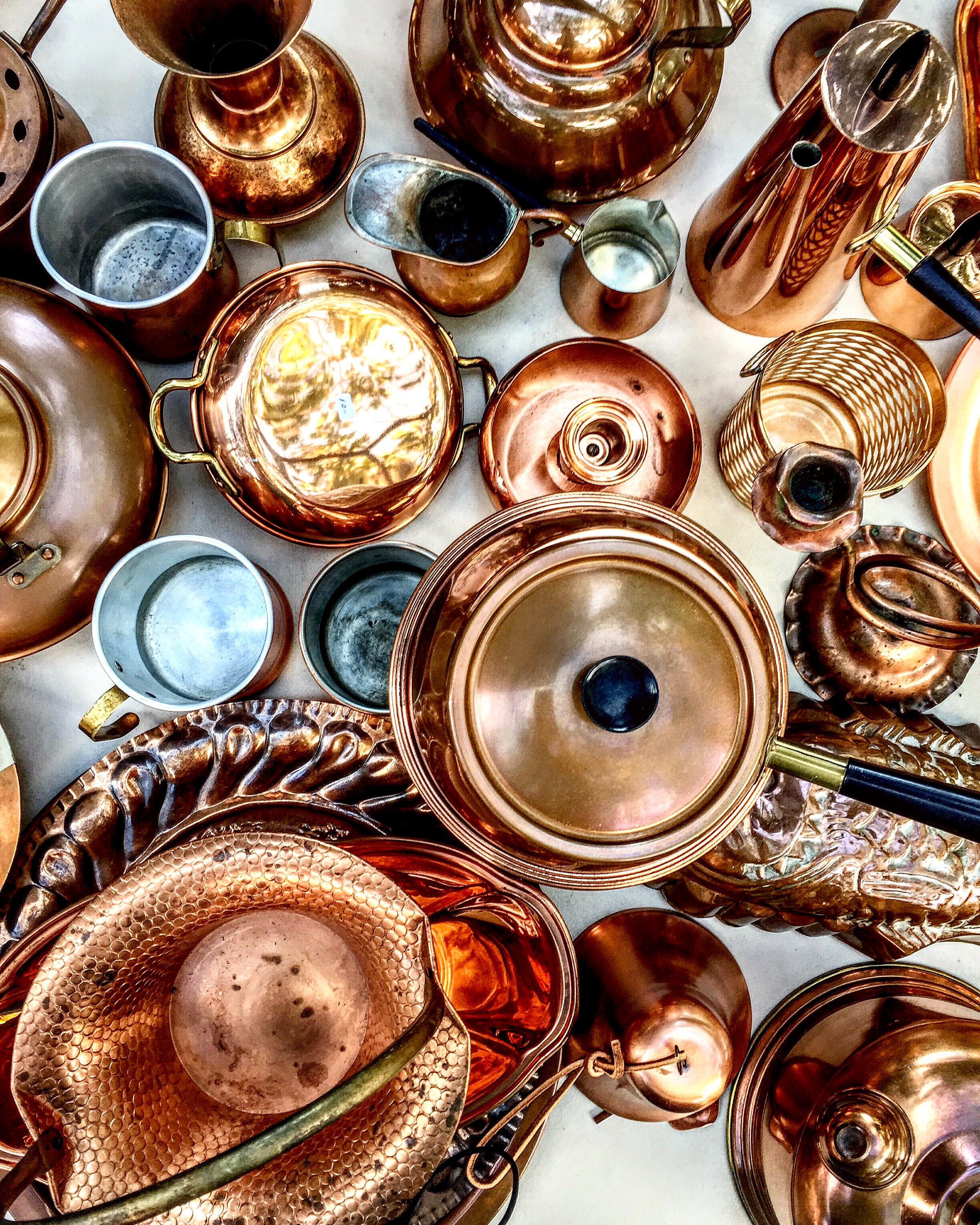 Copper at a local vintage store