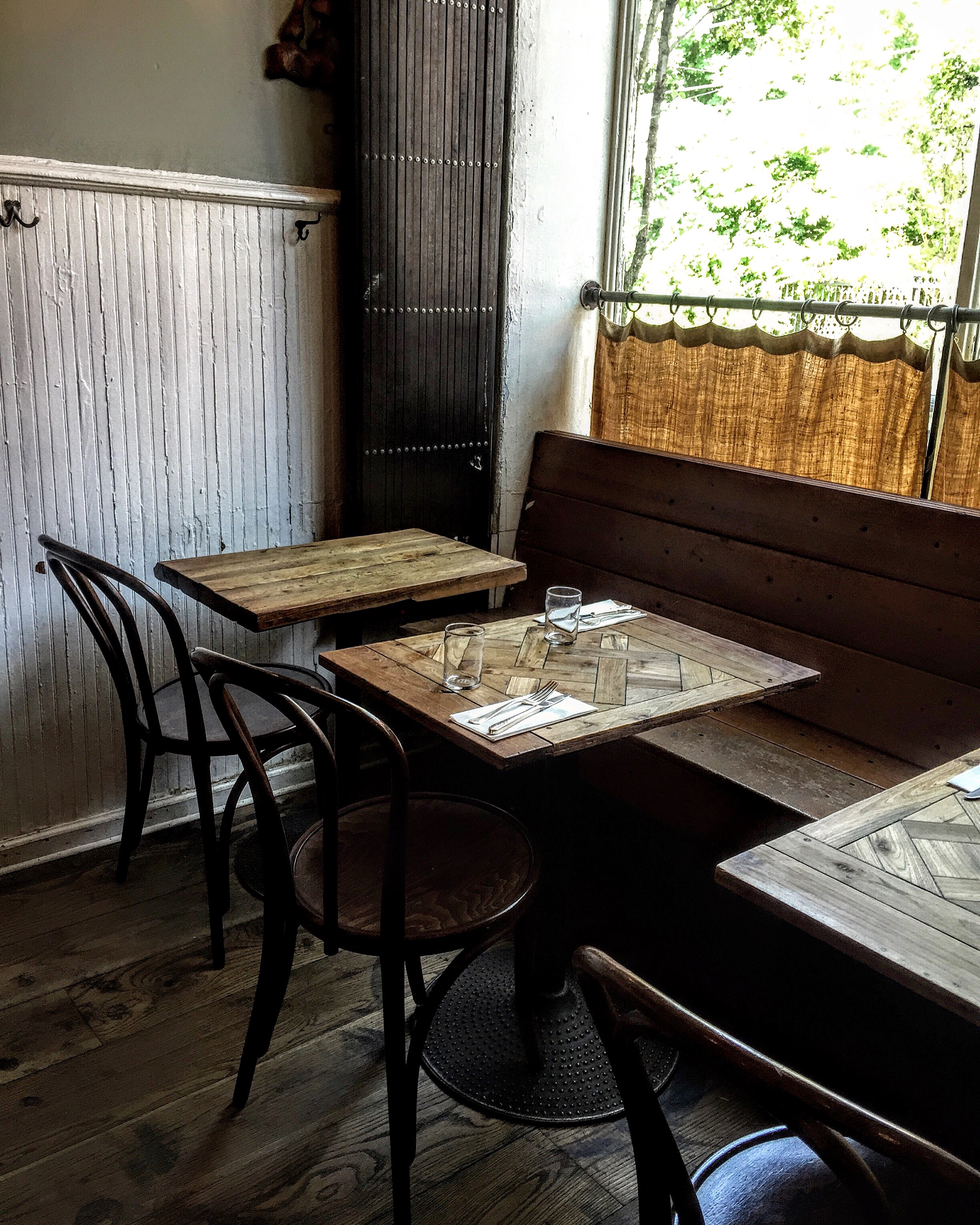 One of my favorite places for brunch,  Vinegar Hill House  in Brooklyn