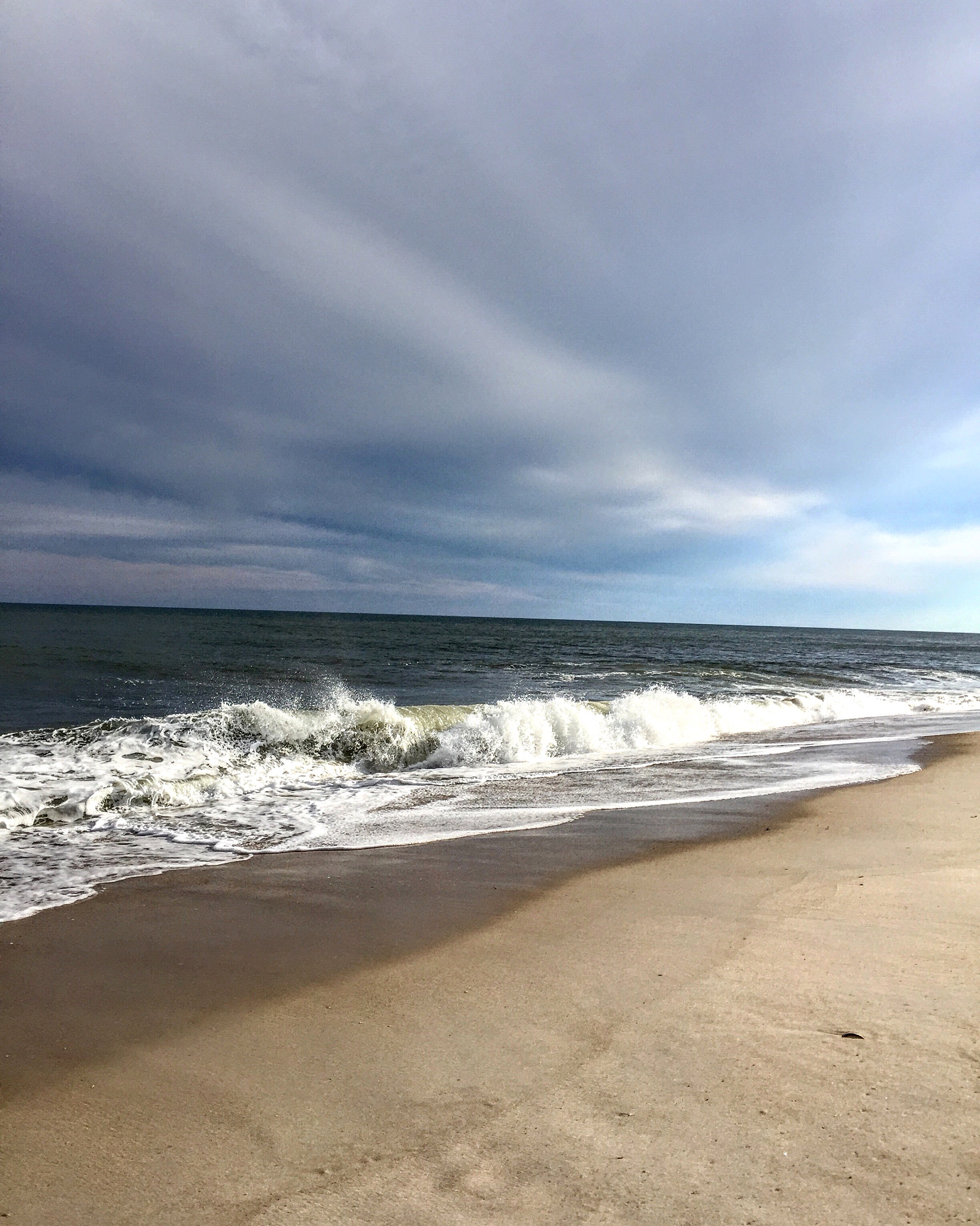 Dramatic lighting at the beach in Fire Island