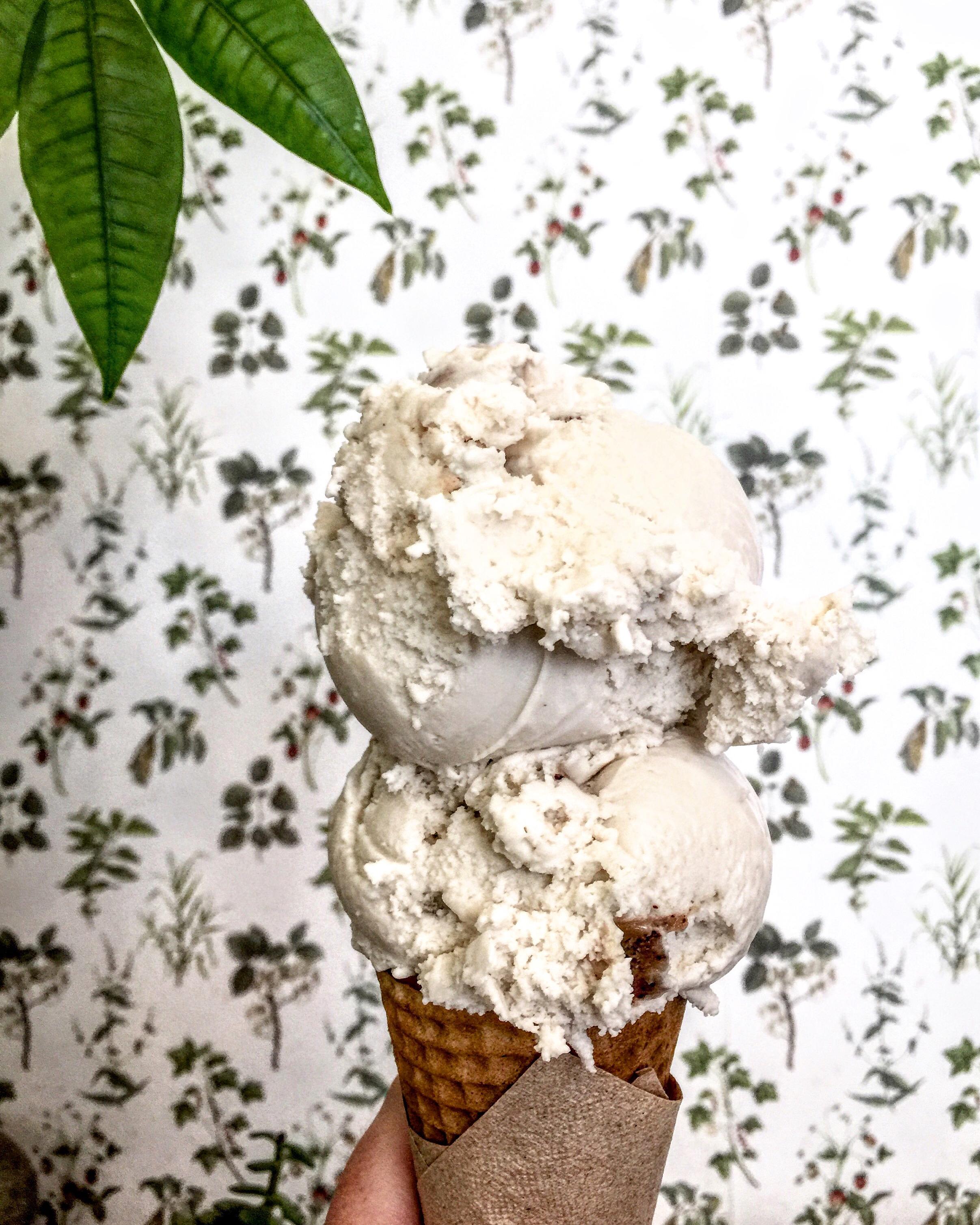 Summer cool down at  Van Leeuwen  - they have the best vegan ice cream