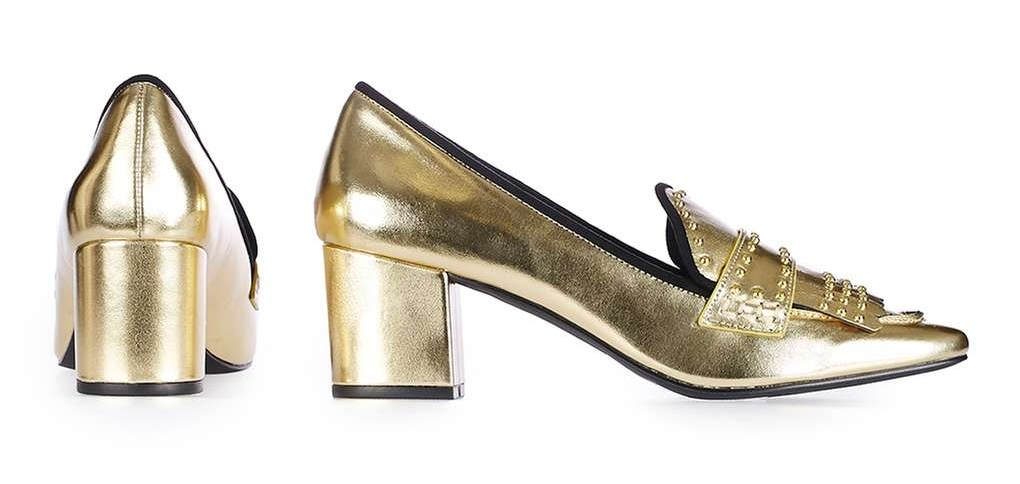 ROSE & IVY Journal The Best Metallic Shoes for Fall