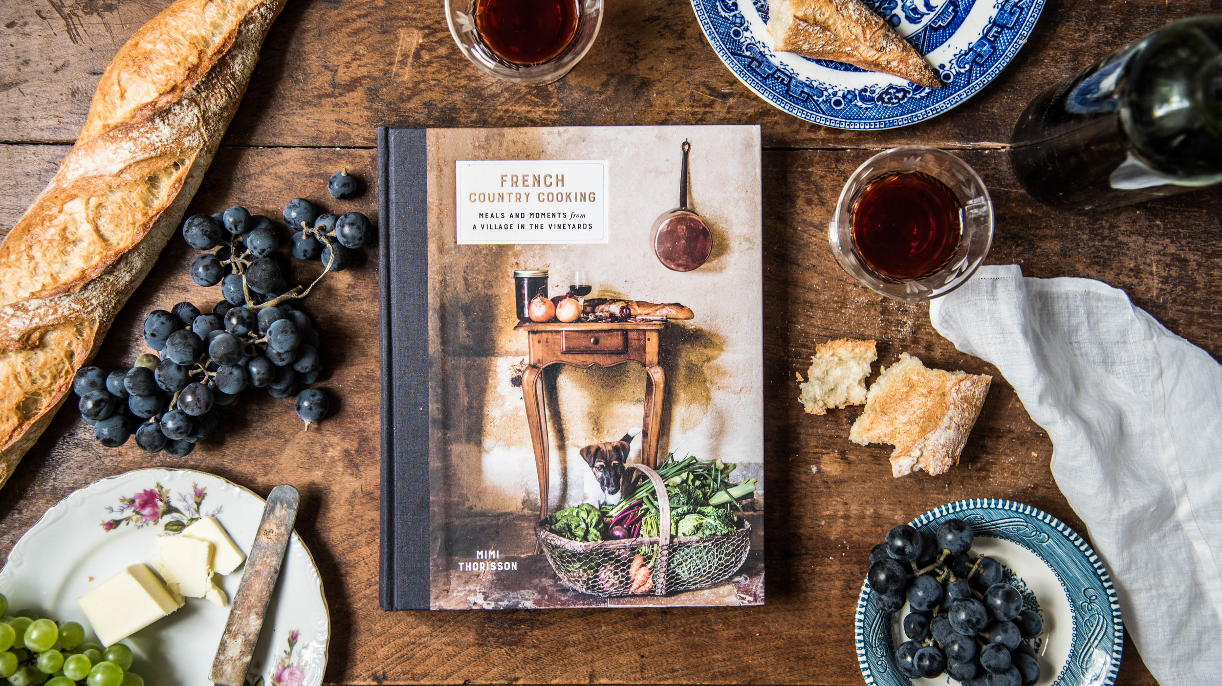 ROSE & IVY Journal New Cookbooks for Fall Mimi Thorrison  French Country Cooking