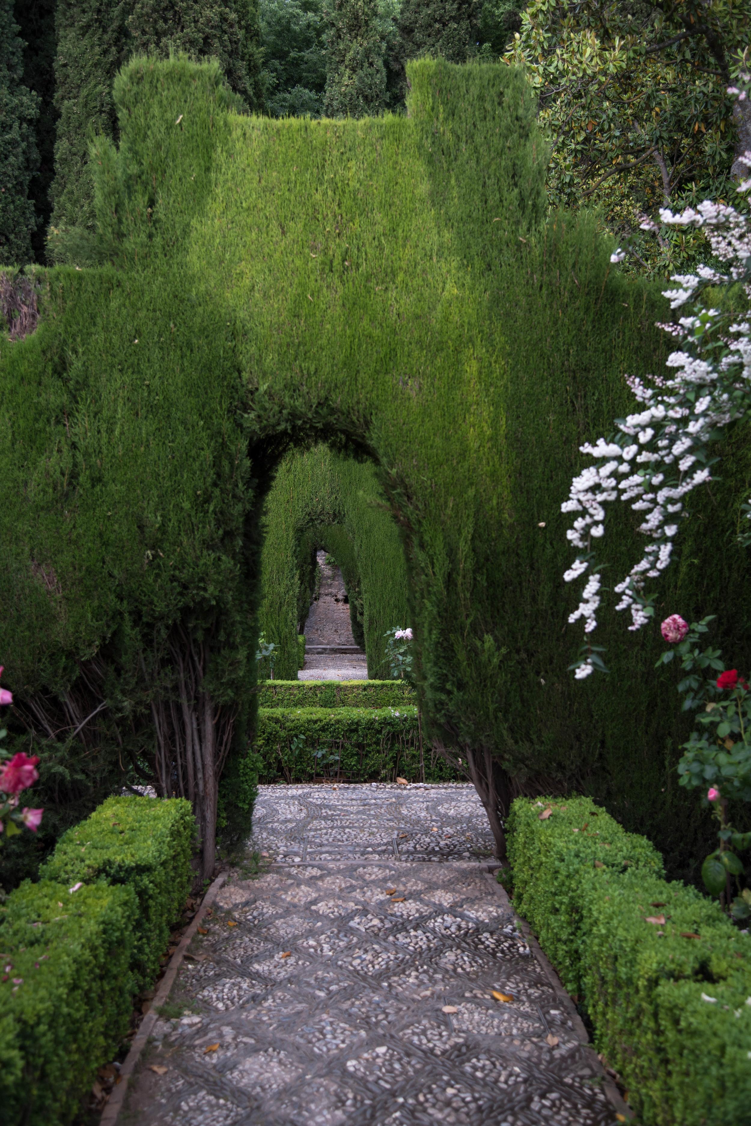 ROSE & IVY Journal Heaven on Earth Alhambra Granada