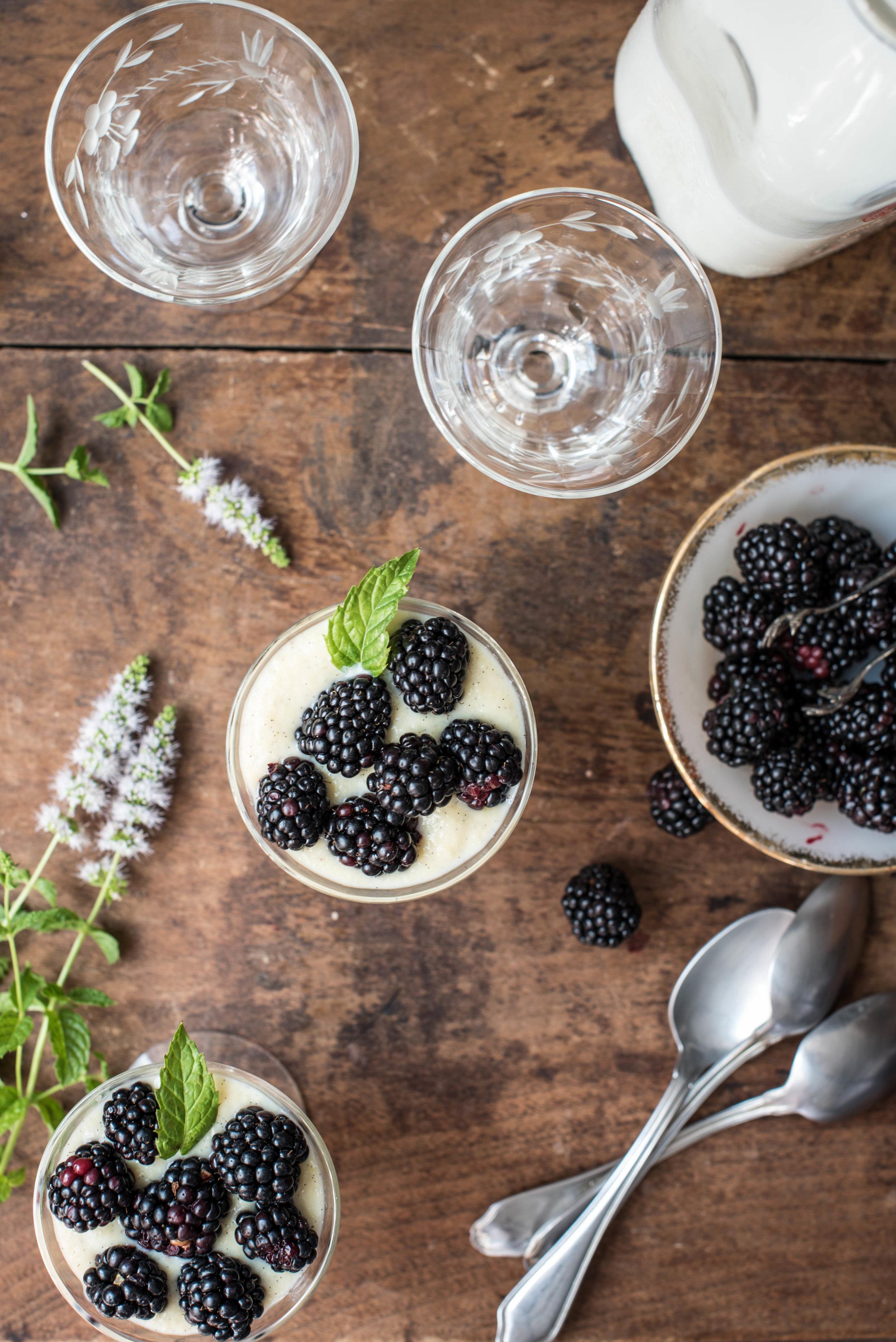 ROSE & IVY Journal Vanilla Bean Pudding