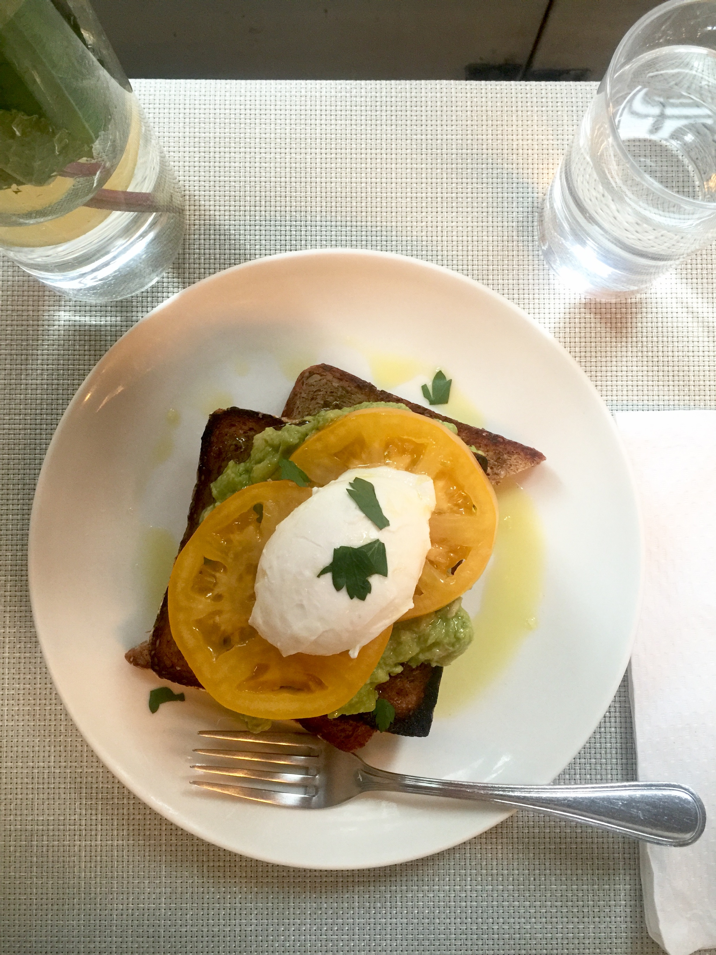Finally trying  Egg Shop , they serve-up an epic avocado & poached egg dish