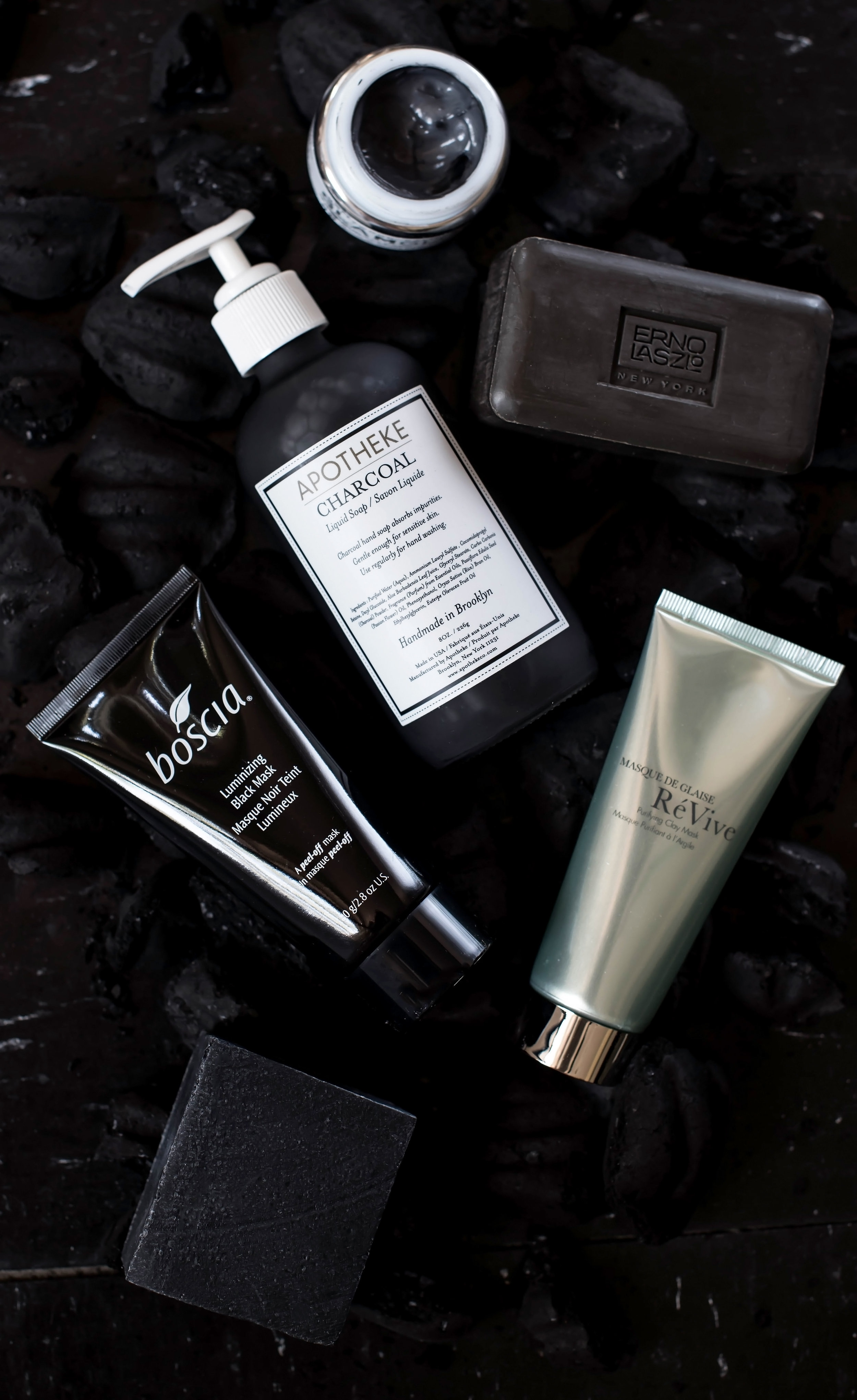 ROSE & IVY Journal A Guide to Charcoal Laced Skincare