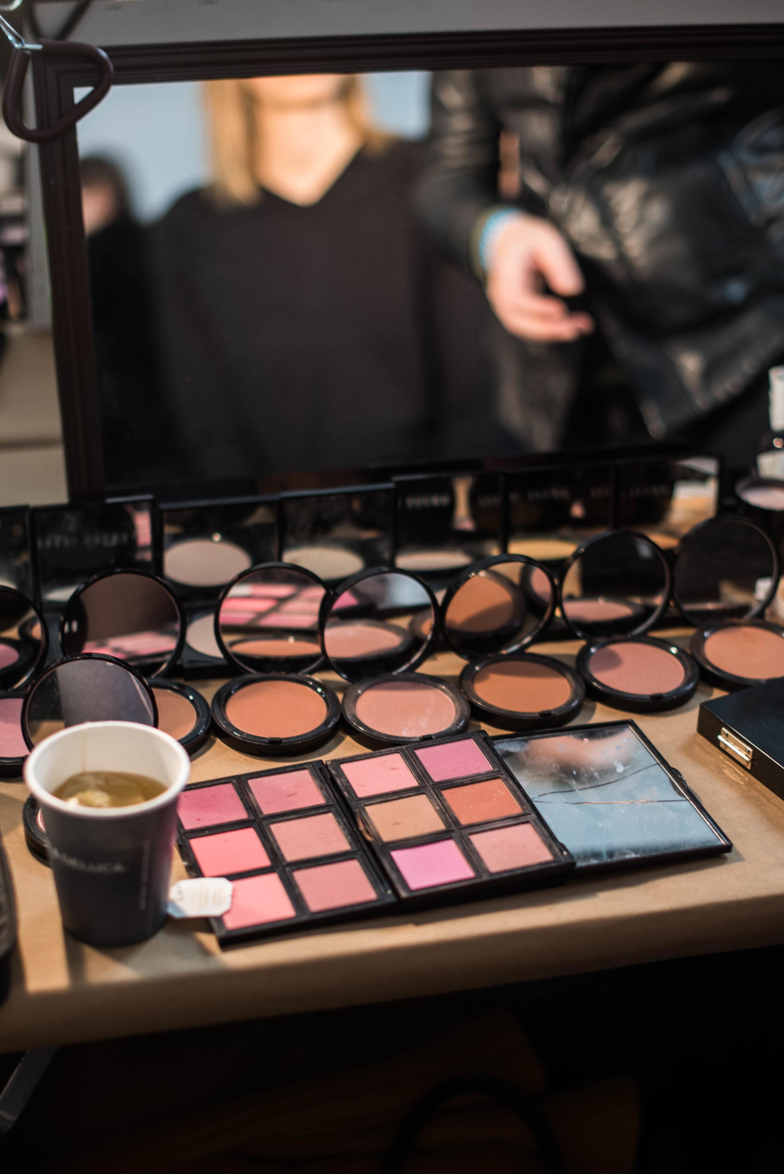 ROSE & IVY Journal Fall 2017 Tibi Backstage Beauty