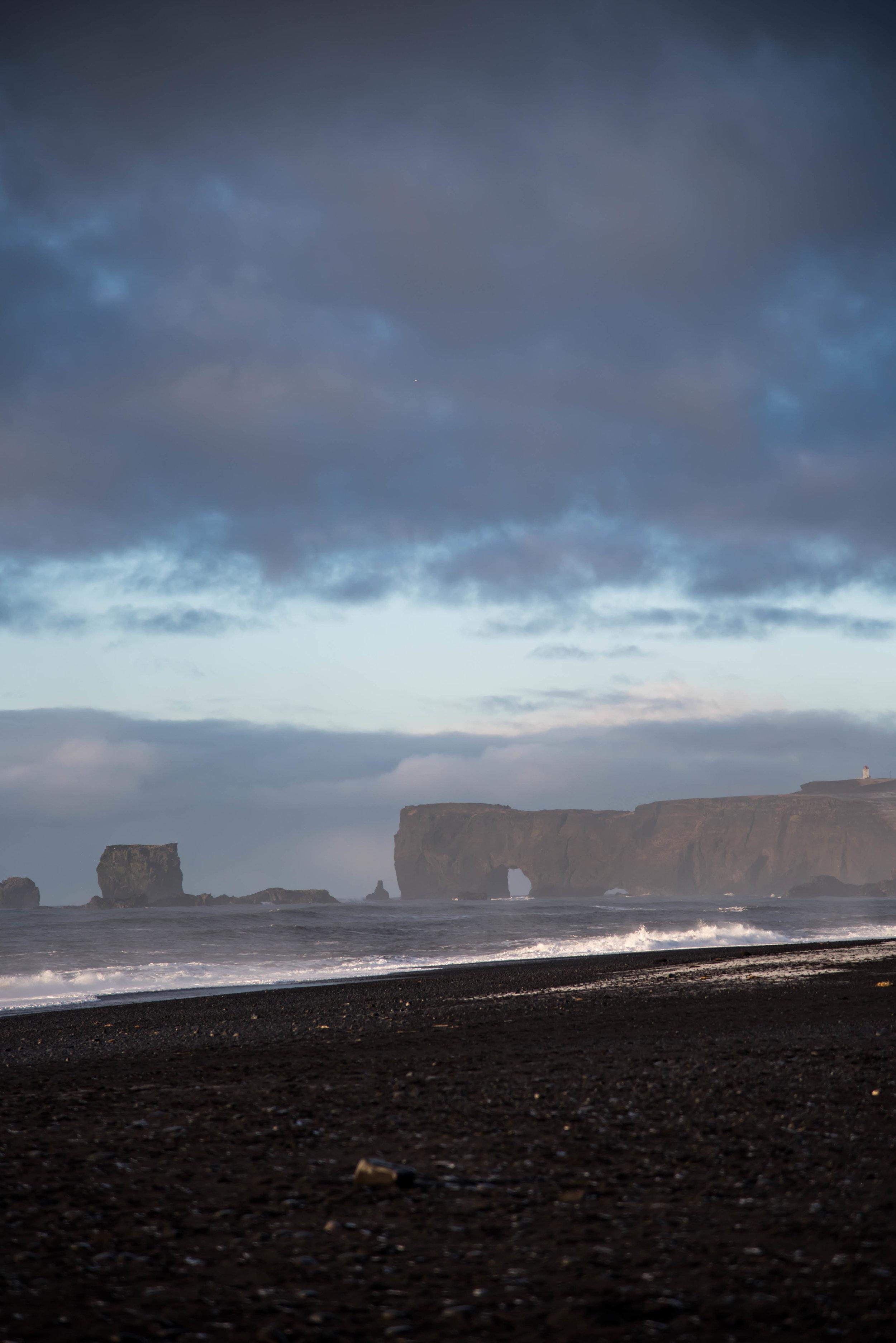 ROSE & IVY Journal Reynisfjara Beach, Vik Iceland