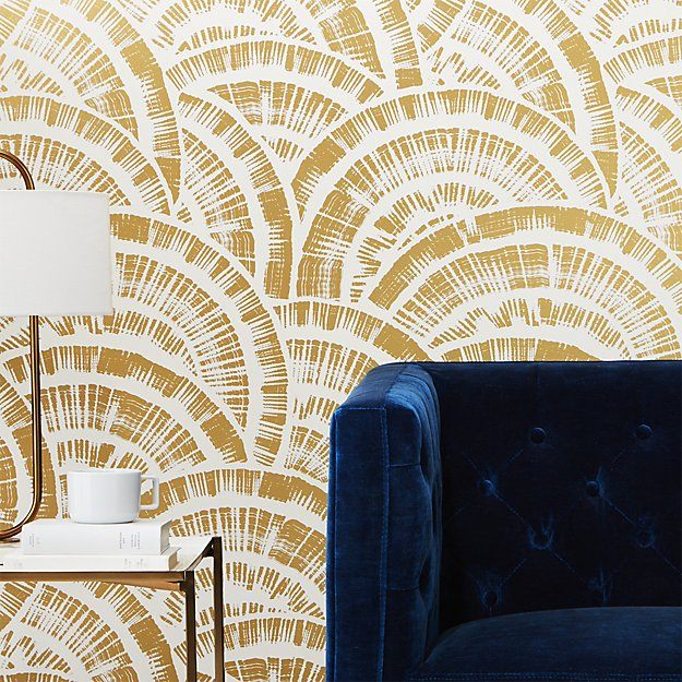 ROSE & IVY Journal Currently Loving CB2's Wallpaper