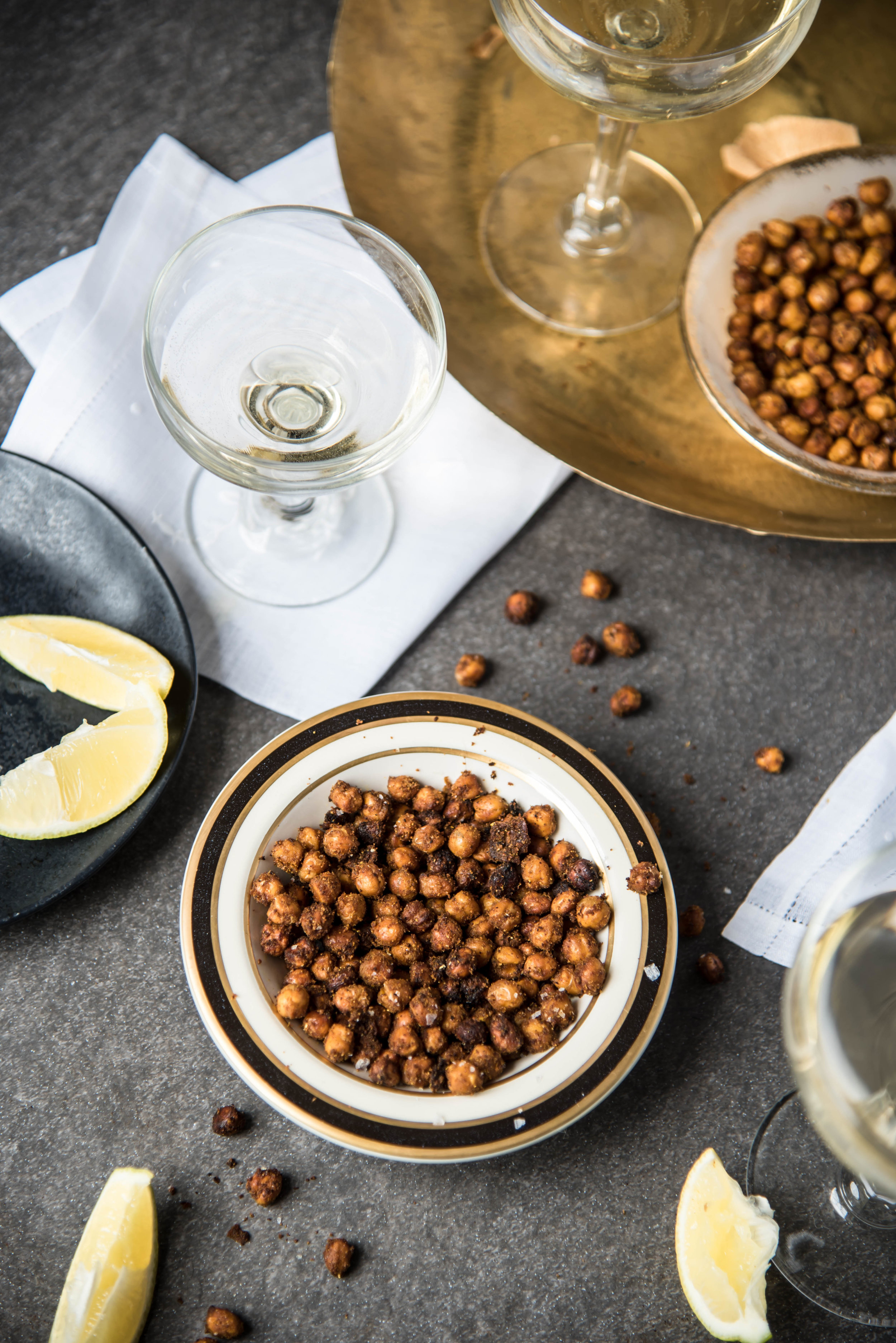 ROSE & IVY Journal Roasted Spiced Chickpeas