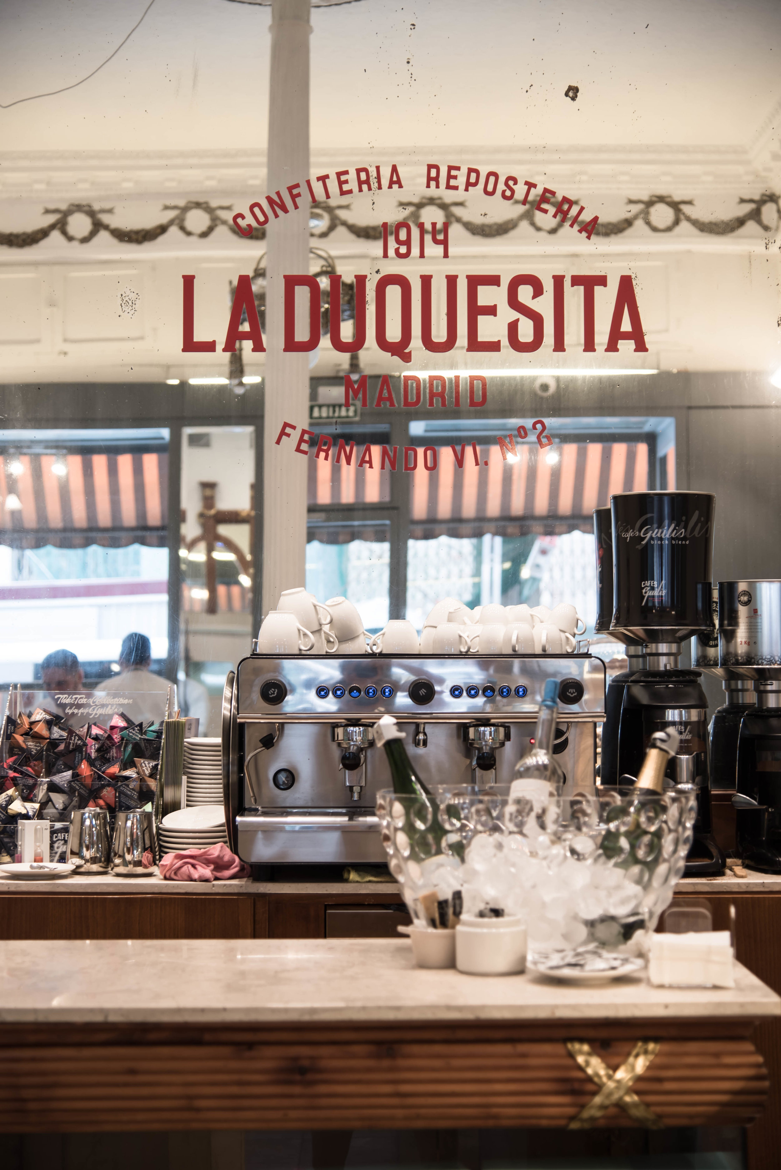 ROSE &IVY Journal Where to Pastries & Drink Coffee Madrid La Duquesita