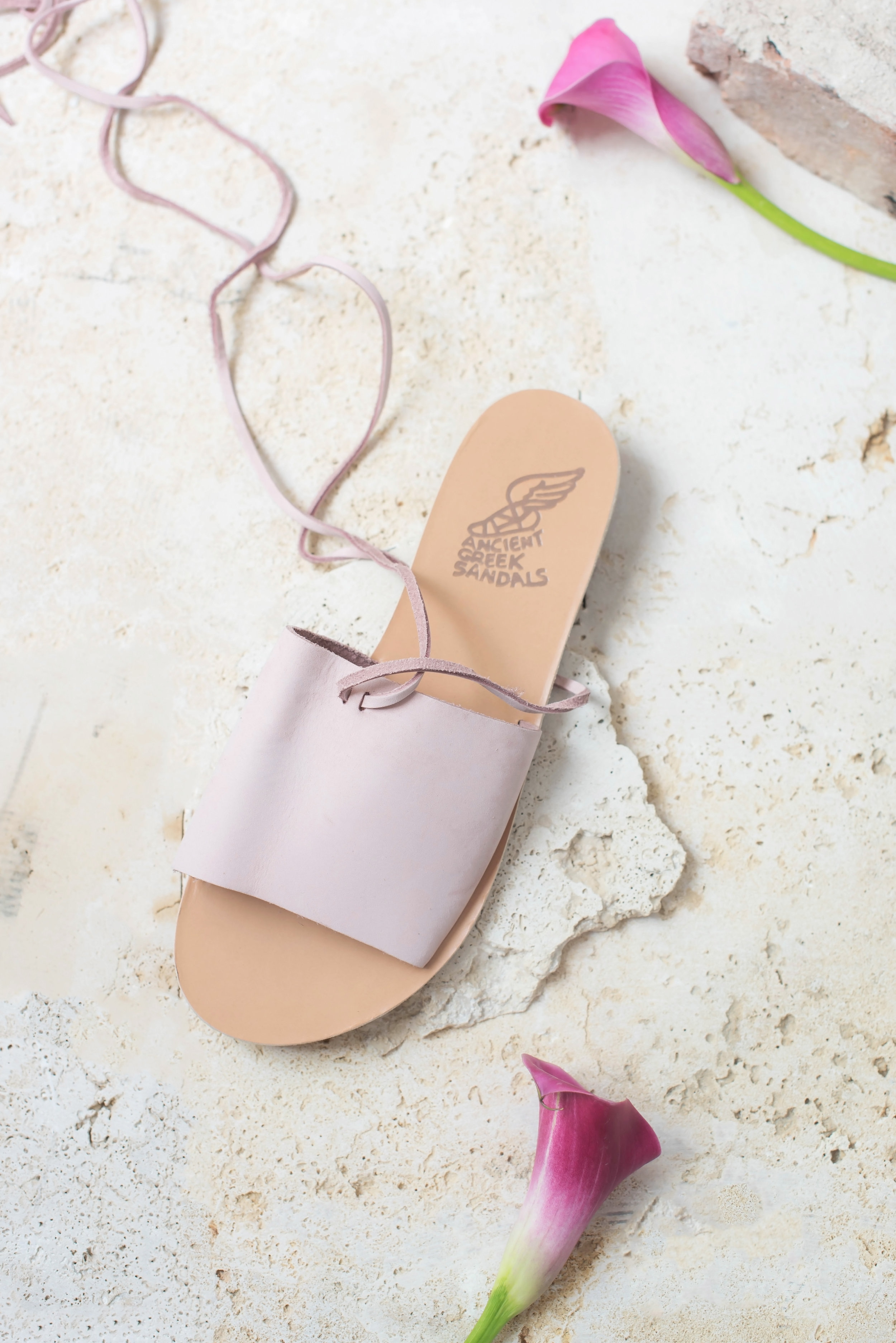 ROSE & IVY Journal Sandals for Summer Ancient Greek Sandals