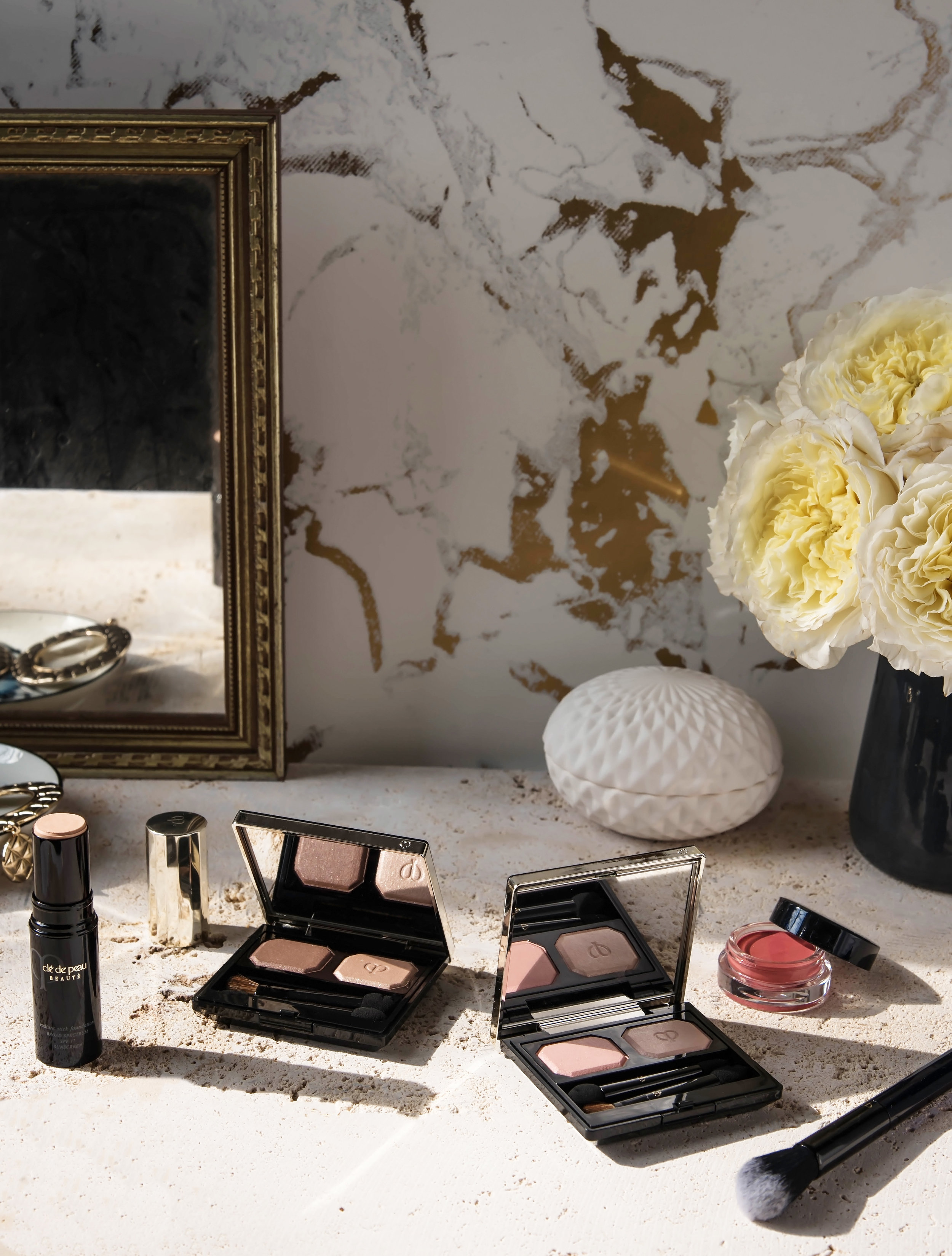 ROSE & IVY Journal On the Vanity with Cle de Peau Beaute Spring 2017 Collection