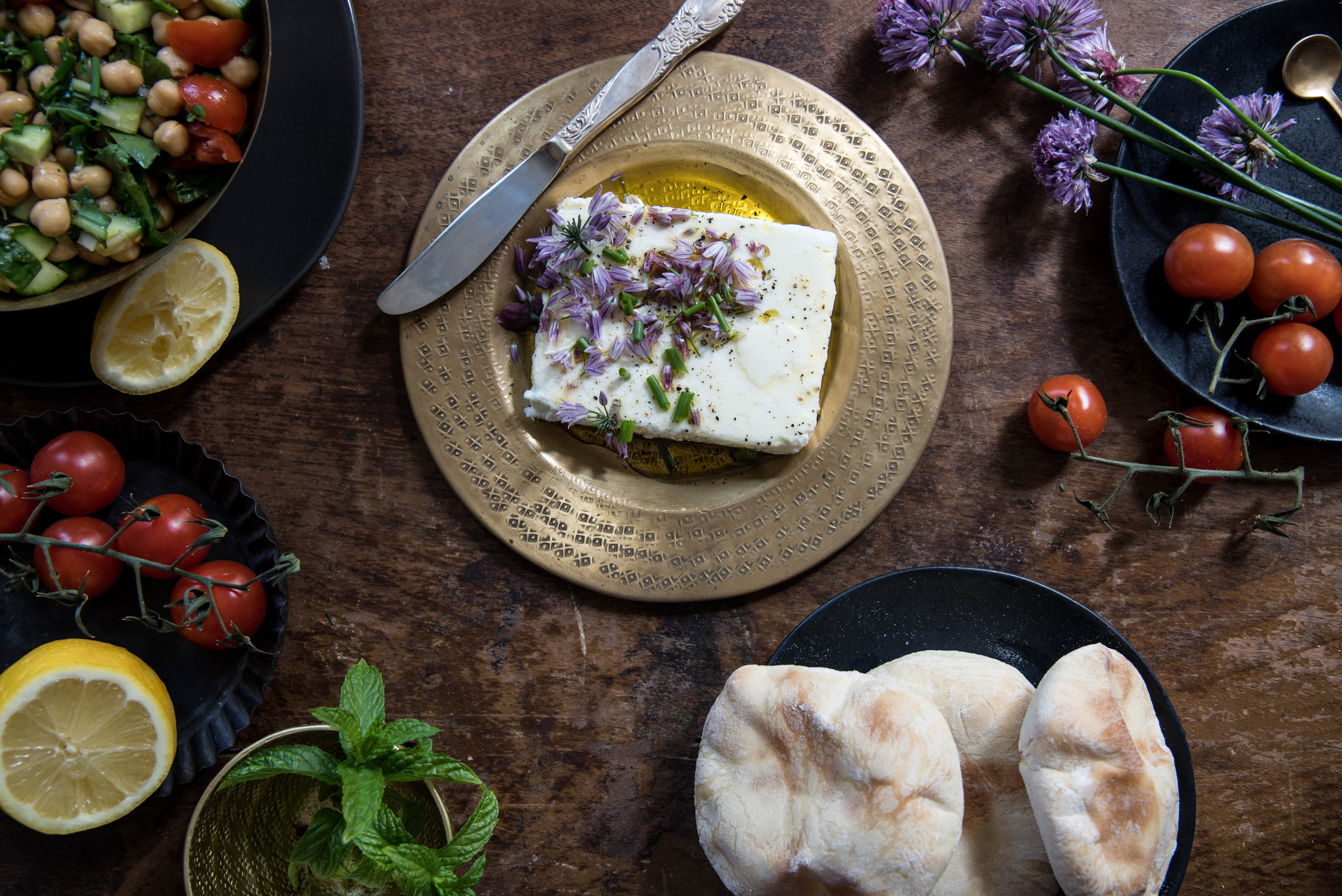ROSE & IVY Journal Middle Eastern Spread from The Palomar Cookbook