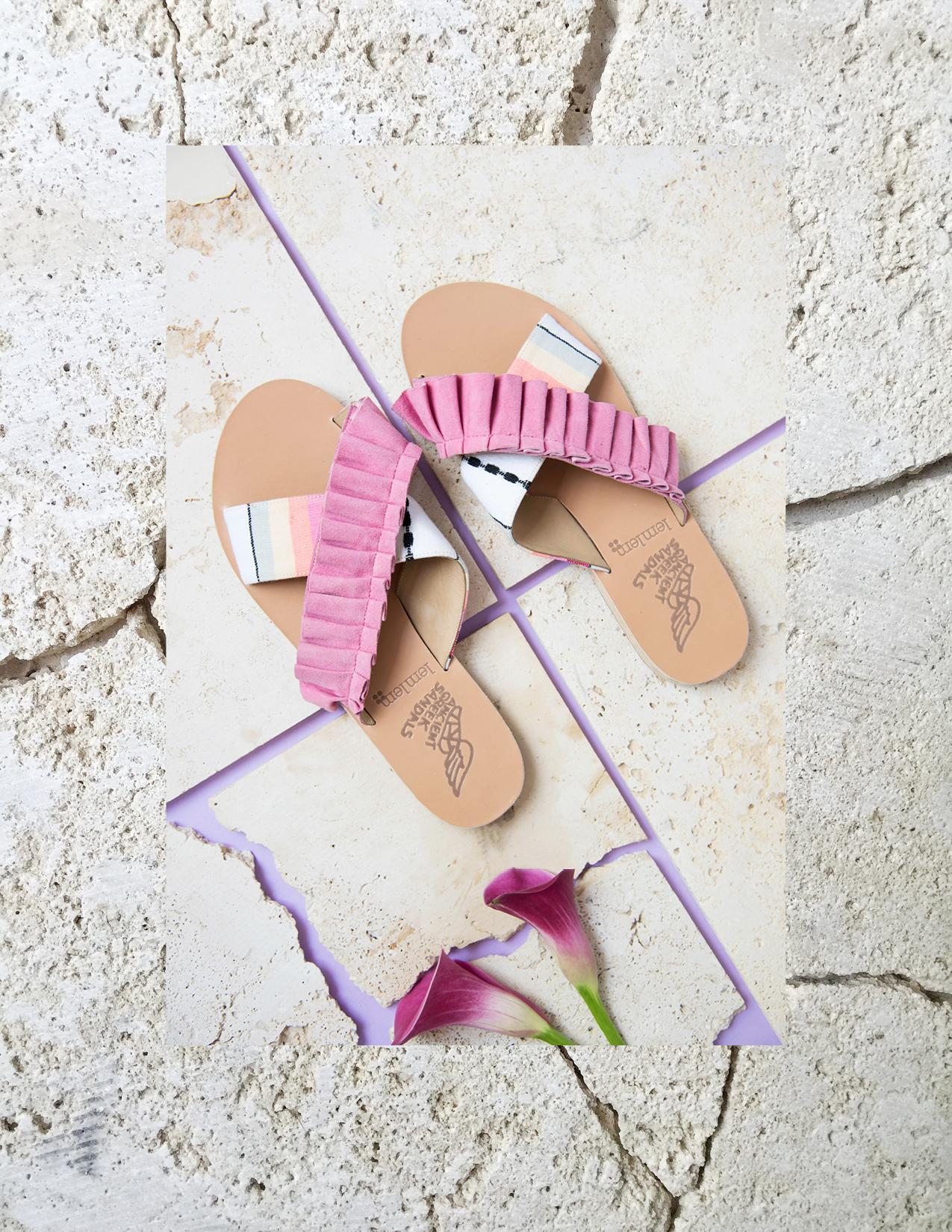 ROSE & IVY Journal Ancient Greek Sandals Summer 2017