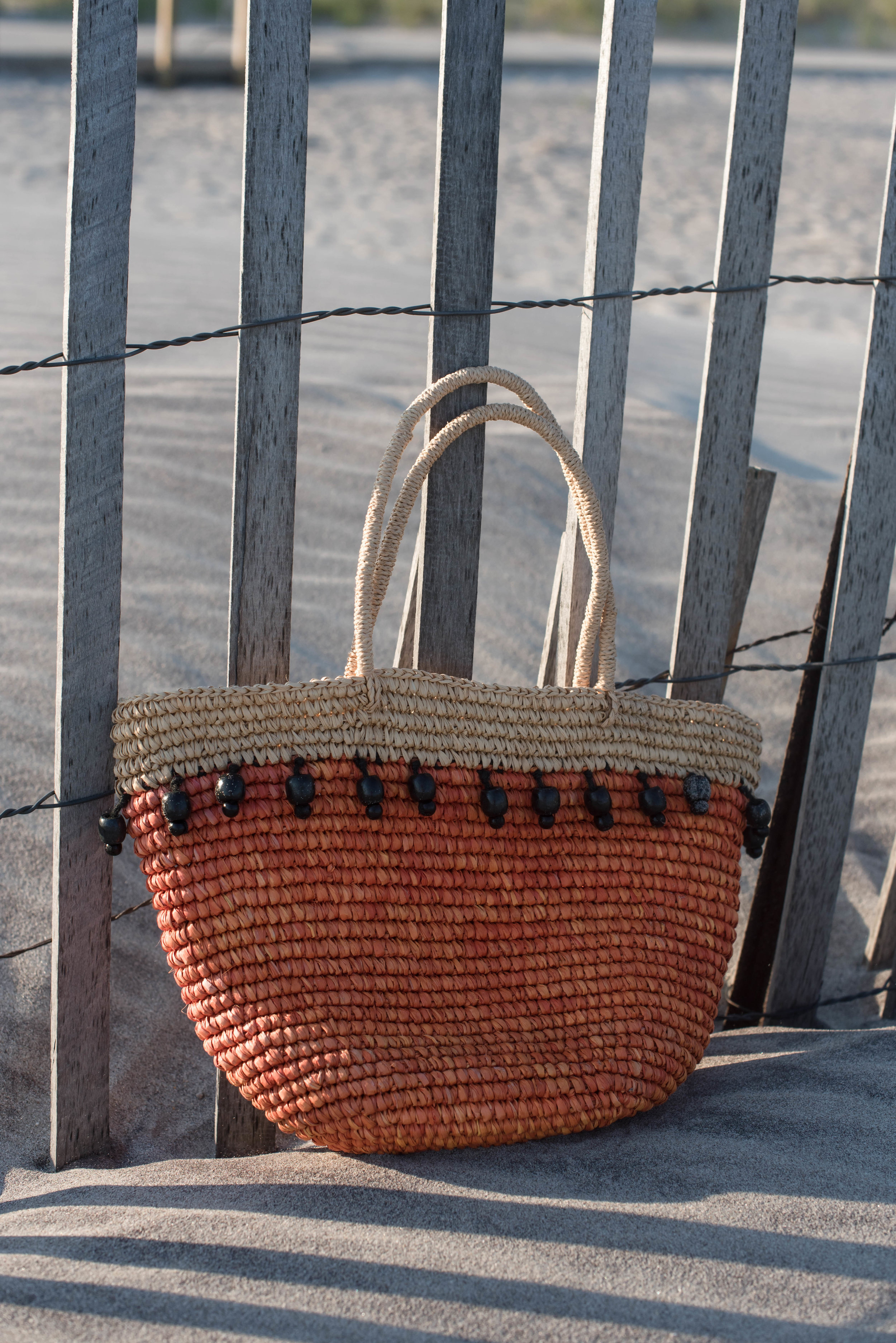 ROSE & IVY Journal A Beach Bag for City or Sand with Sensi Studio