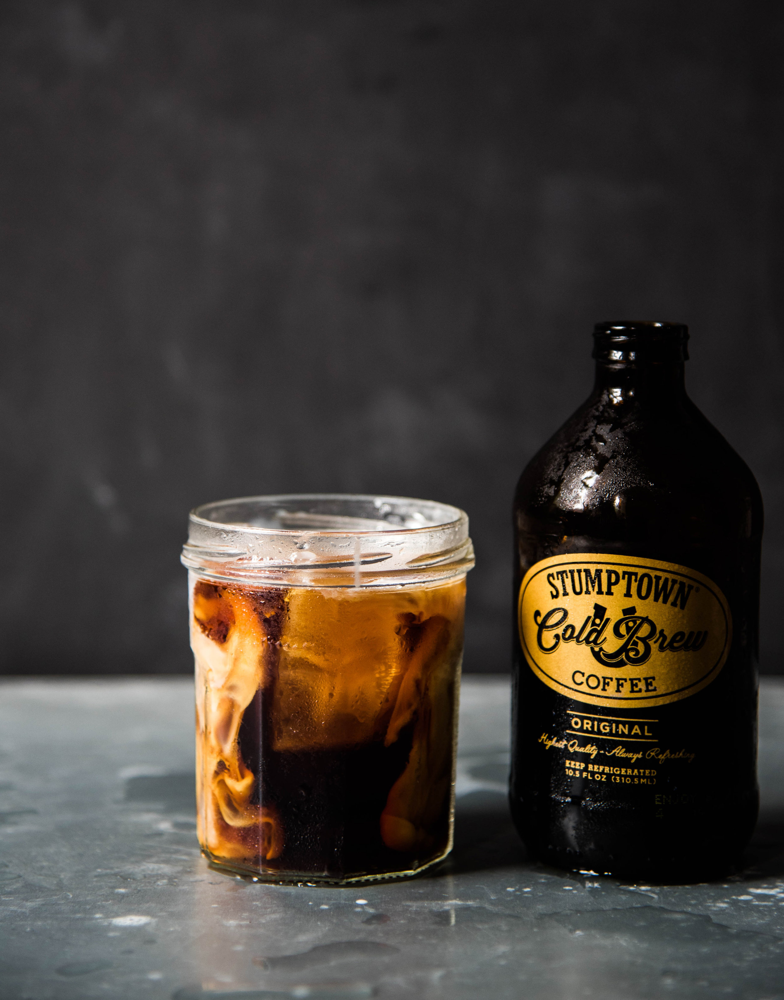 ROSE & IVY Journal Iced Coffee to Cool Down Stumptown Cold Brew