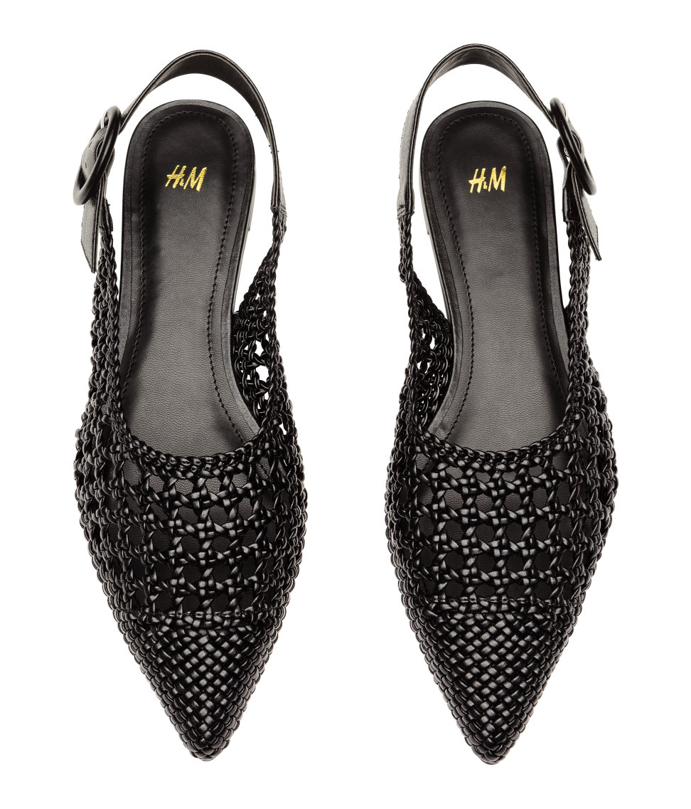 The Find | Braided Slingbacks - A Breezy Summer Shoe Under $30
