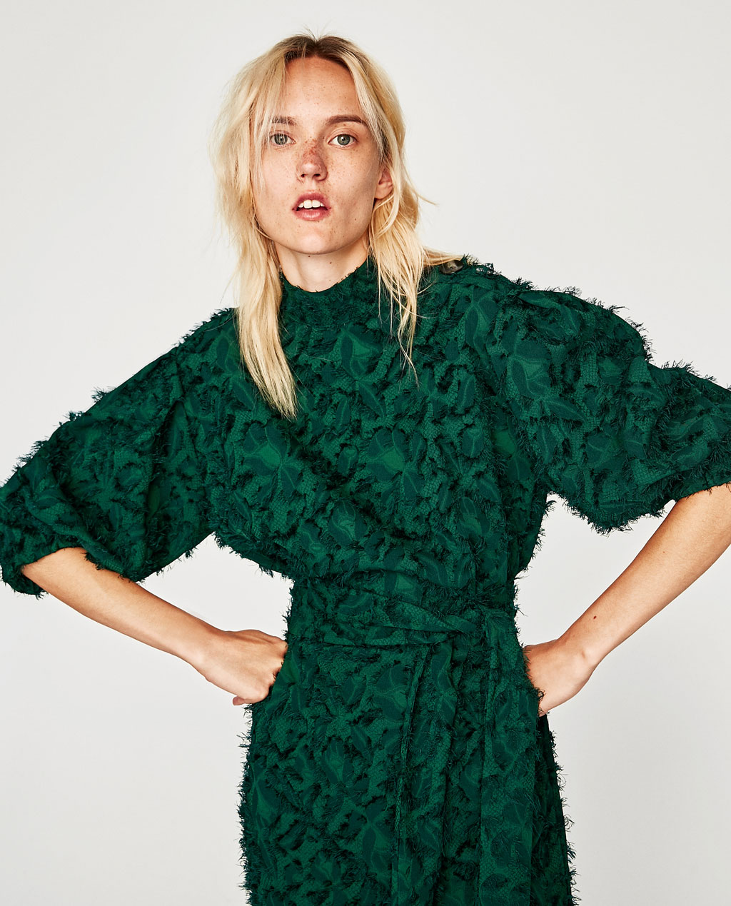 Currently Loving - Zara's Emerald Midi Dress
