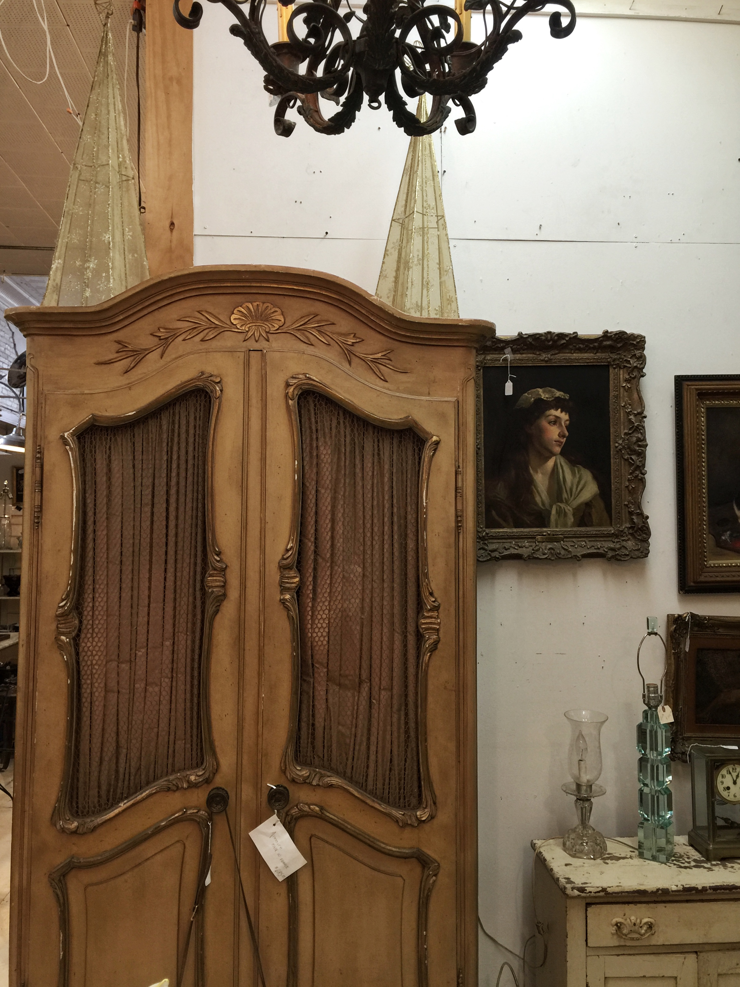 The eclectic offerings in Carousel Antique Center