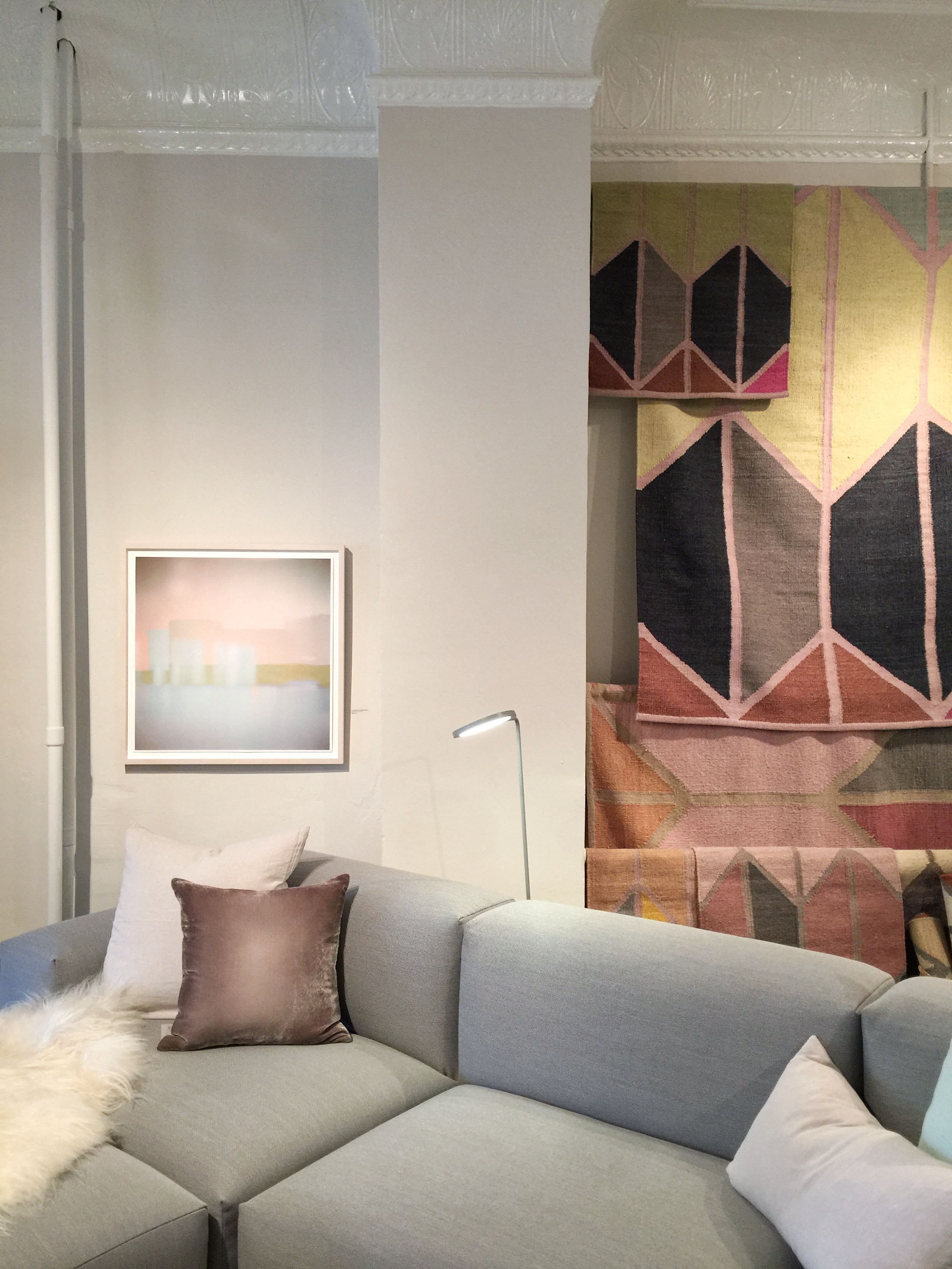 The cozy furniture at Hawkins New York