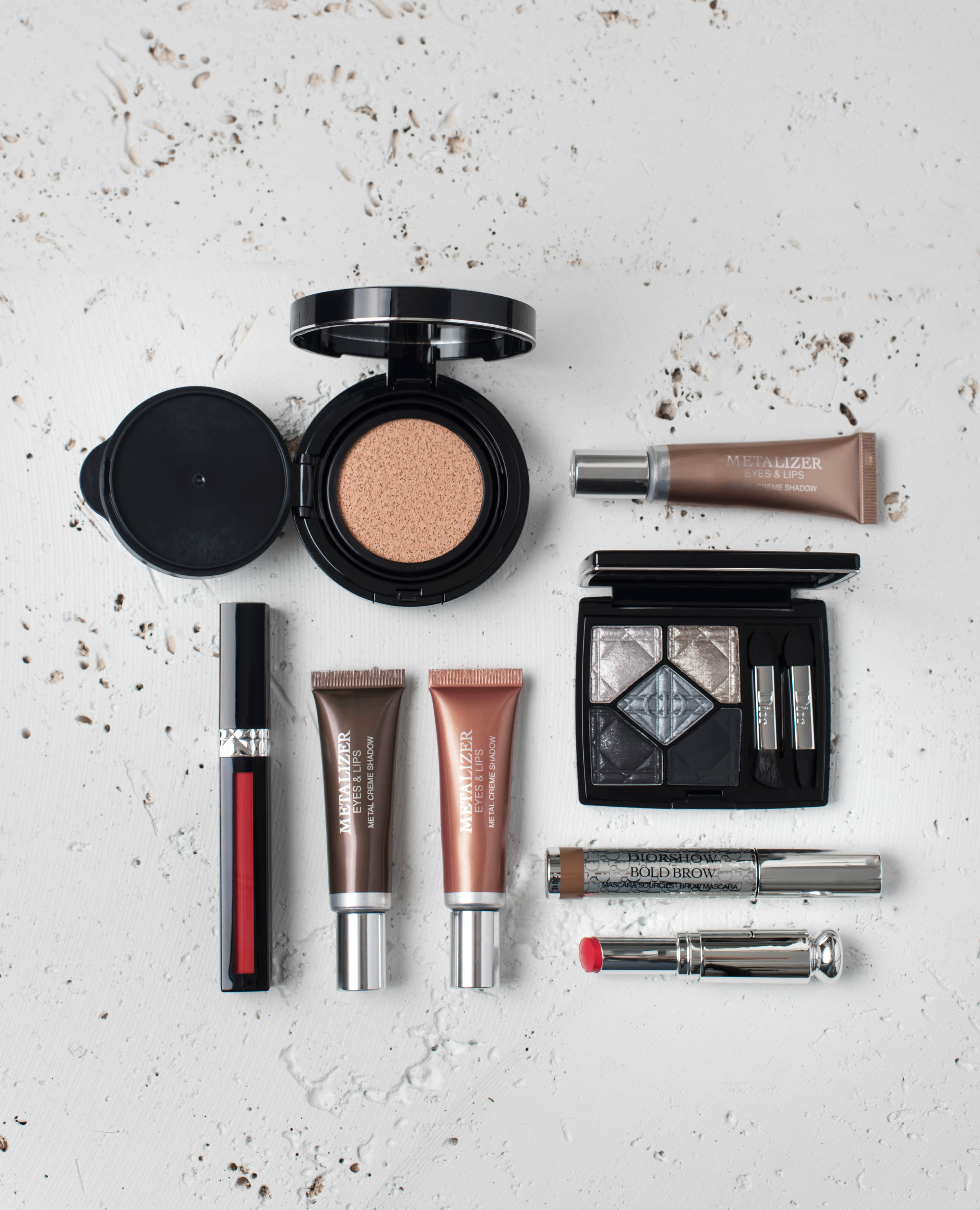 ROSE & IVY Journal Fall Beauty Dior's Metals and Defining Colors