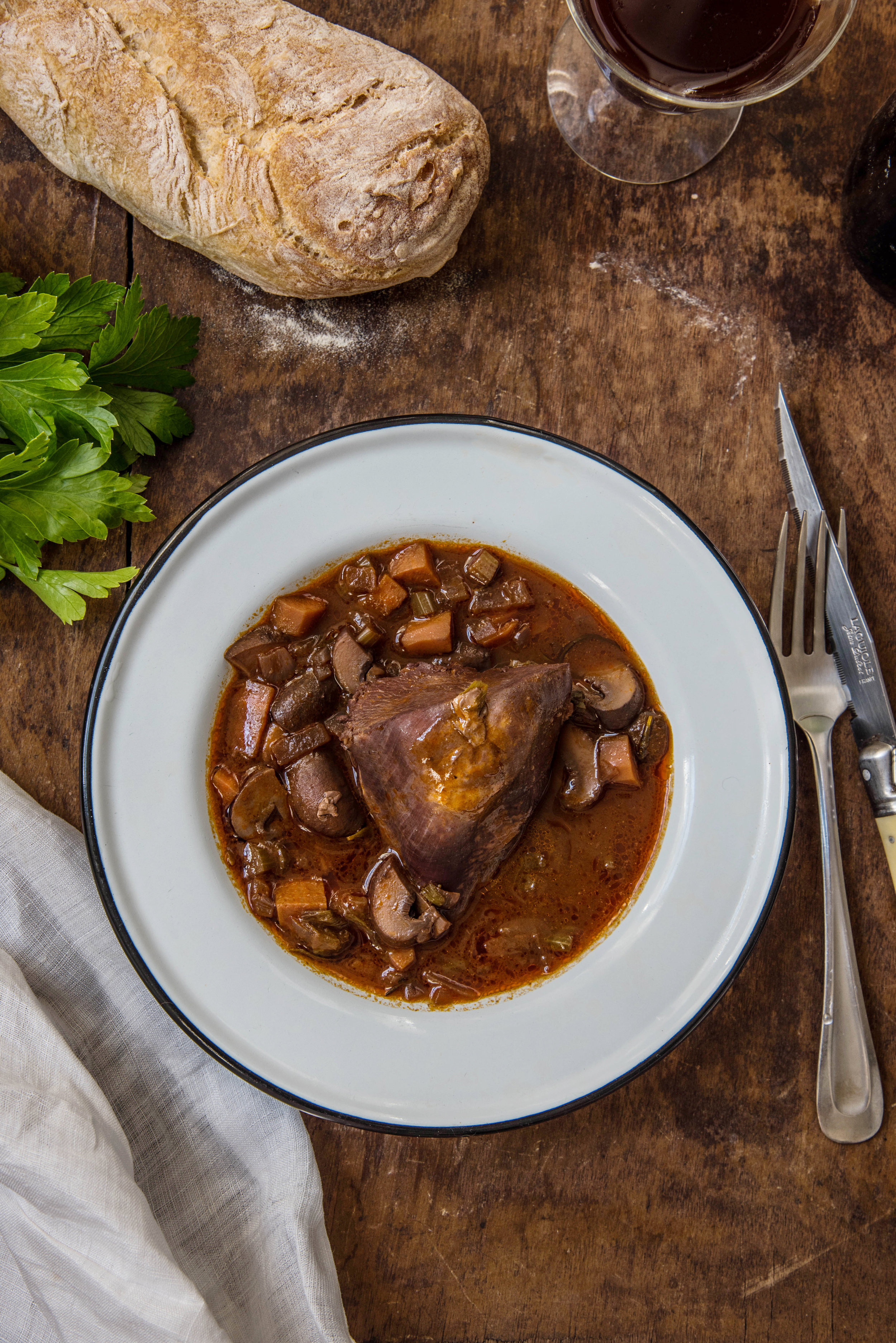 Coq Au Vin - French Cooking Made Easy
