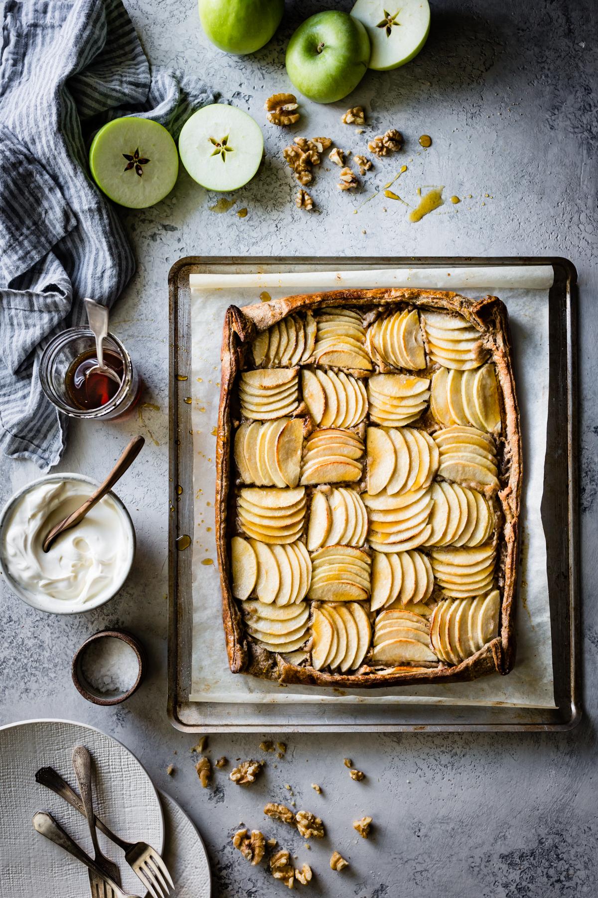 Buckwheat Apple Frangipane Tart - Bojon Gourmet