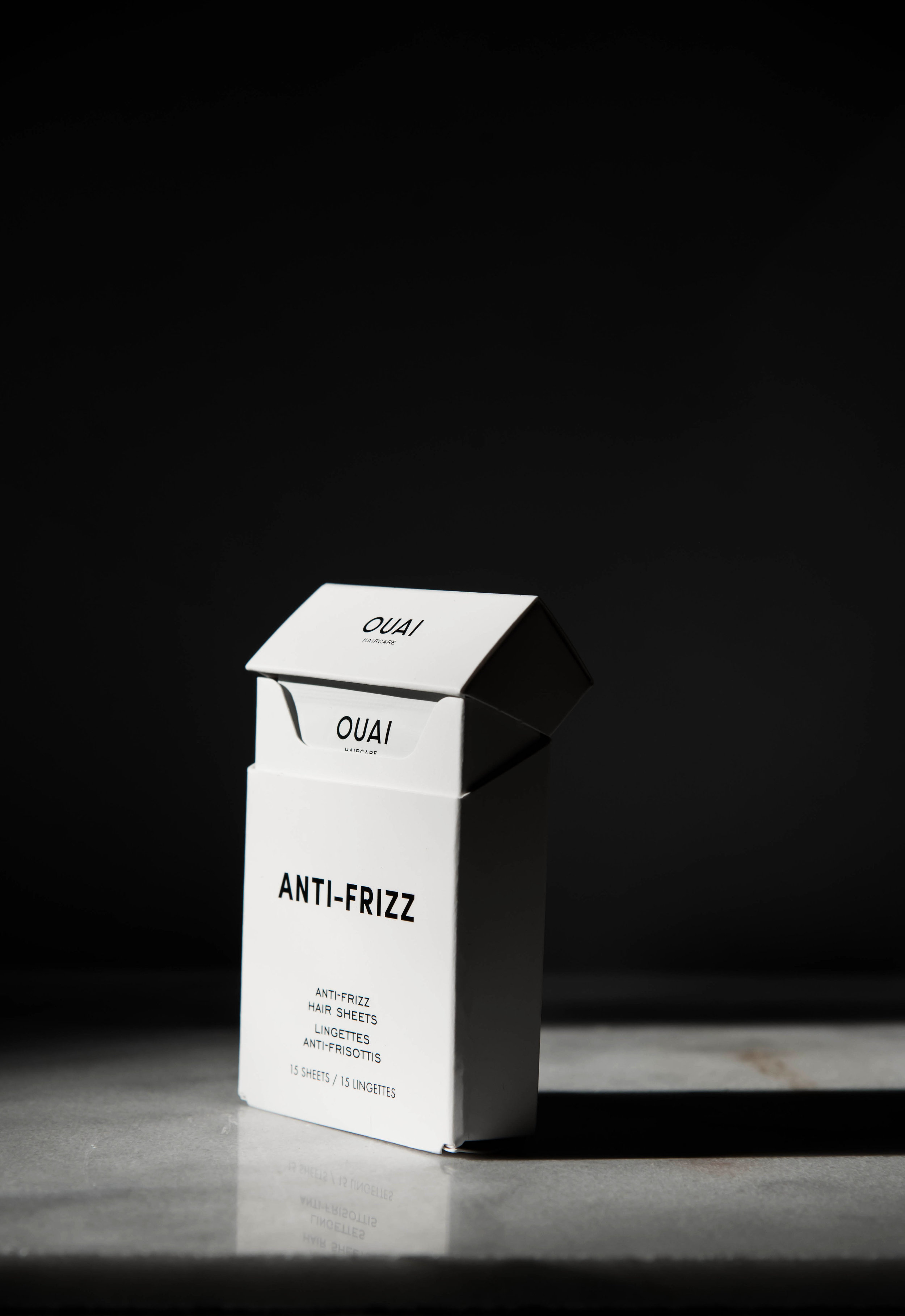 Tame Frizz A New Way - With Ouai's New Anti-Frizz Hair Sheets