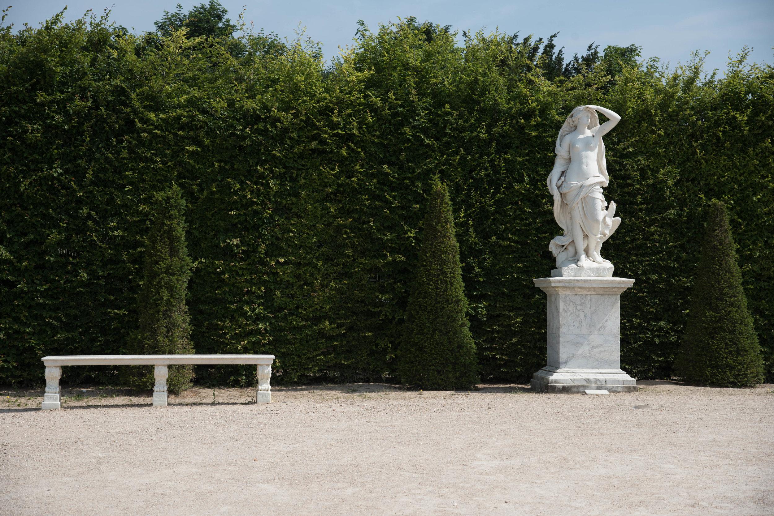 ROSE & IVY Journal Garden Dreamer | Solitude at Versailles